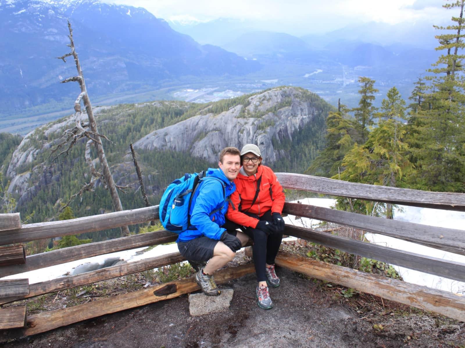 Btissam & Paul from Edmonton, Alberta, Canada
