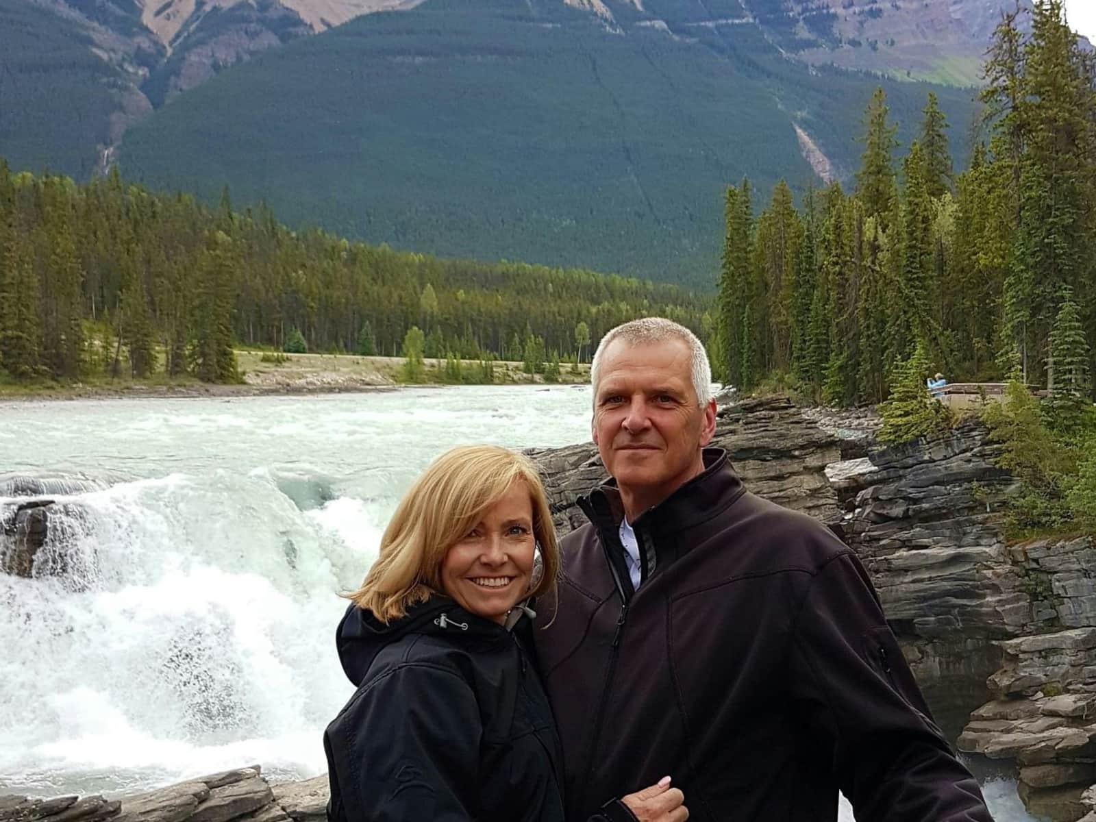 Robert & Shelley from Edmonton, Alberta, Canada