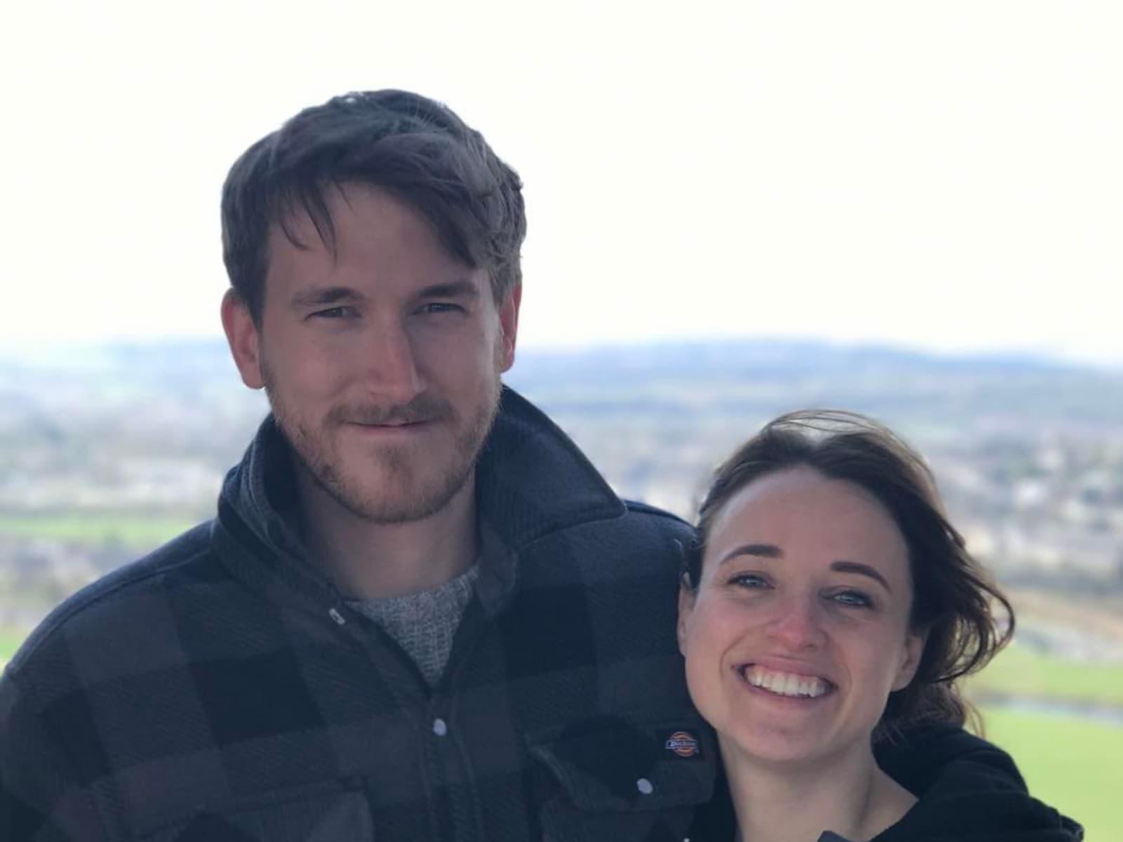 Nicola & James from Calgary, Alberta, Canada