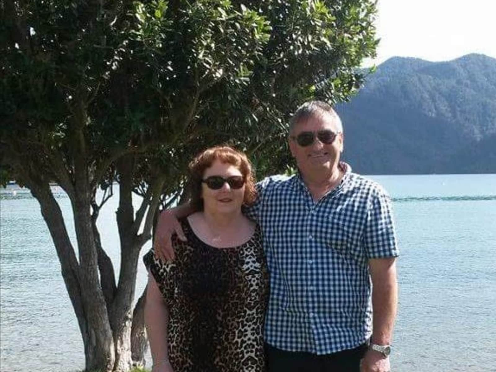 Barbara & Murray from Christchurch, New Zealand