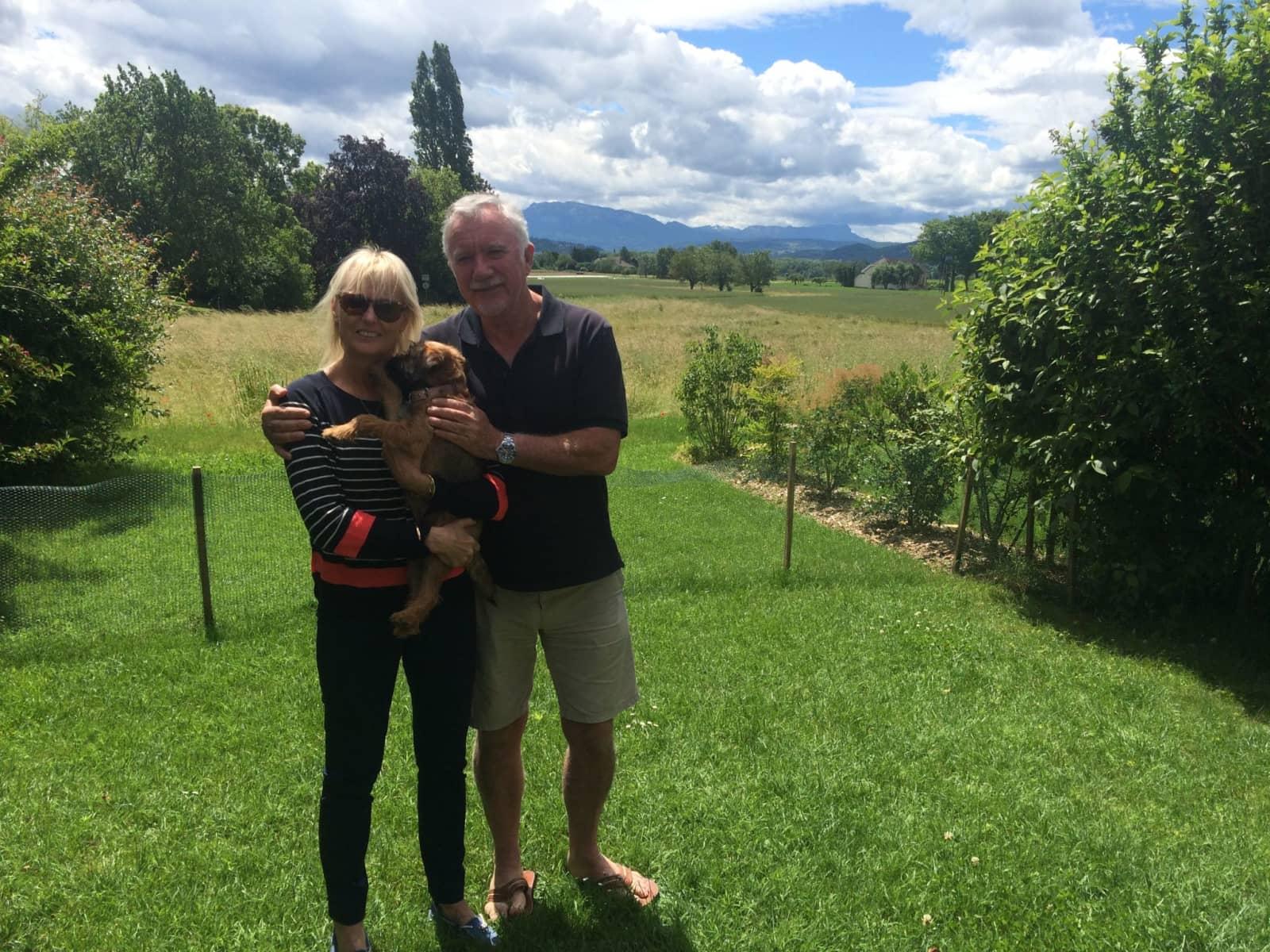 Linda & Norman from Martinborough, New Zealand