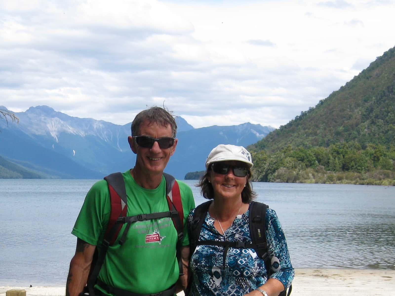 Petreah & Dean from Nelson, New Zealand