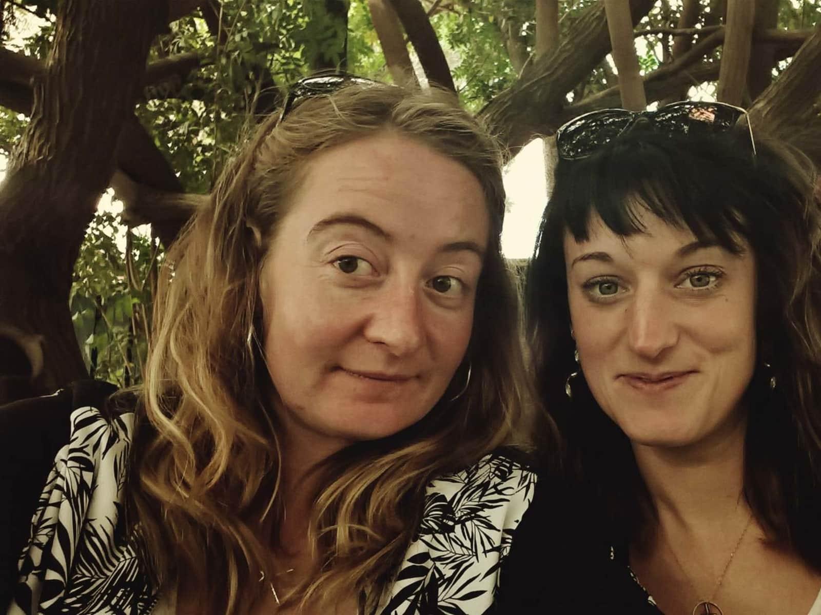 Laura & Geraldine from Dijon, France