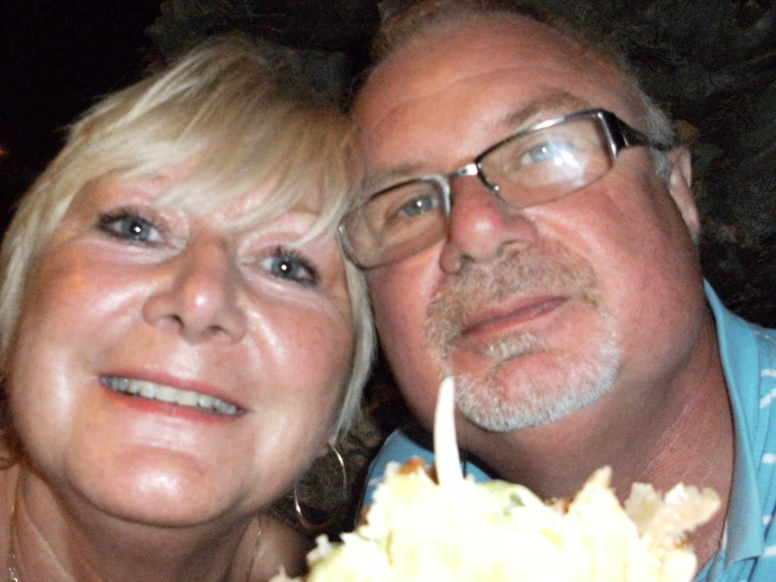 Mike & Carol from Llandysilio, United Kingdom