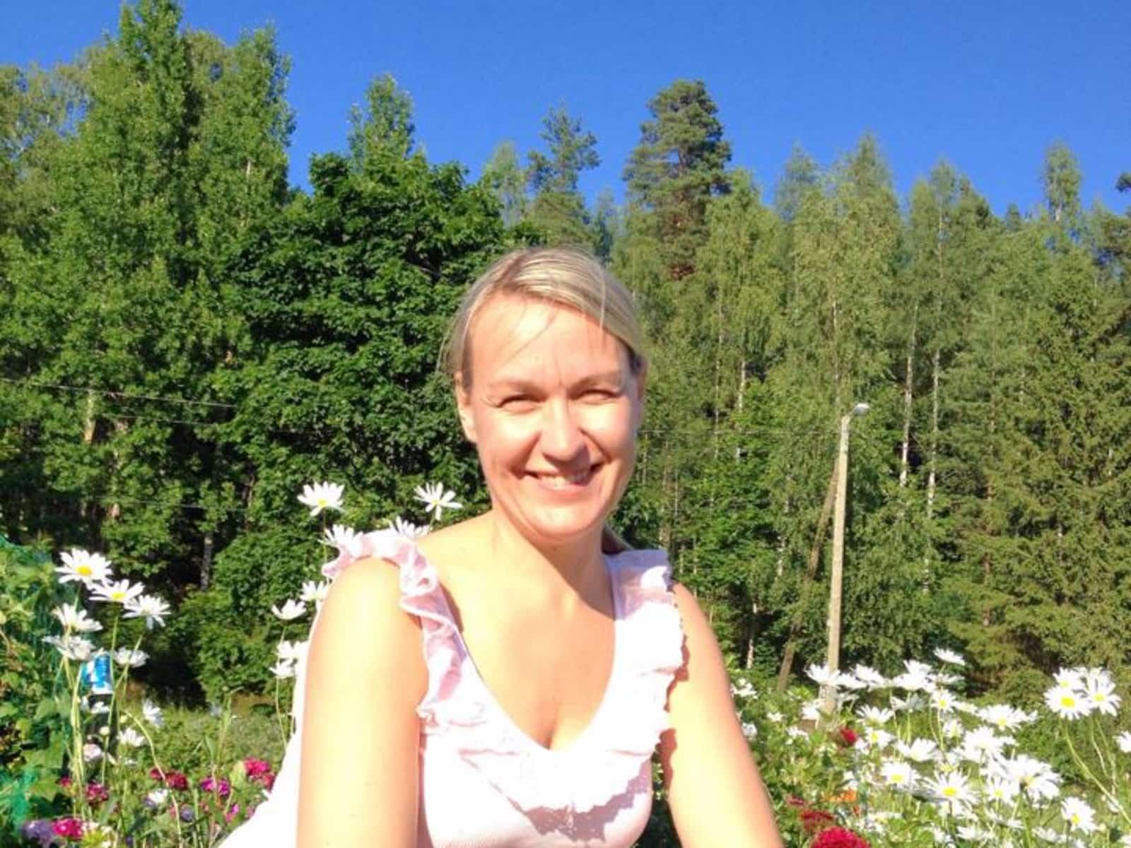 Tuula from Espoo, Finland