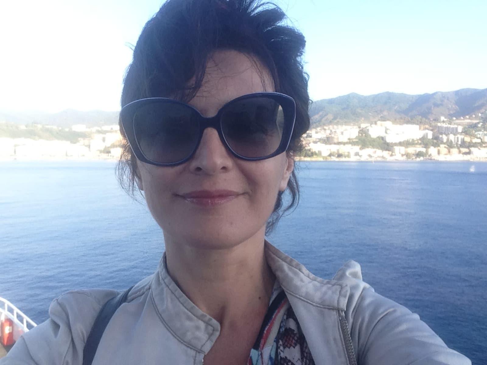 Claudia from Catania, Italy