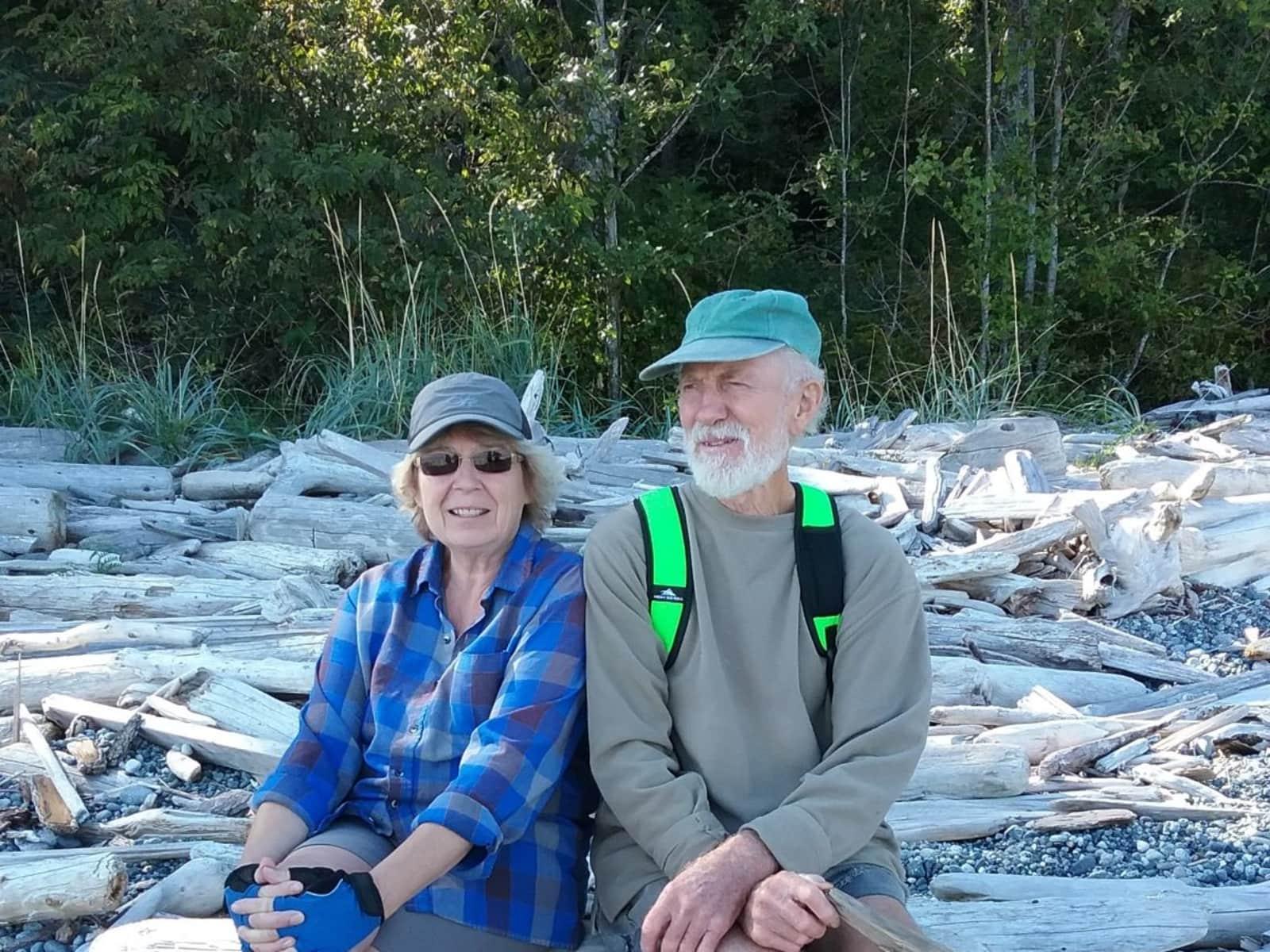 Claire & Dan from Quathiaski Cove, British Columbia, Canada