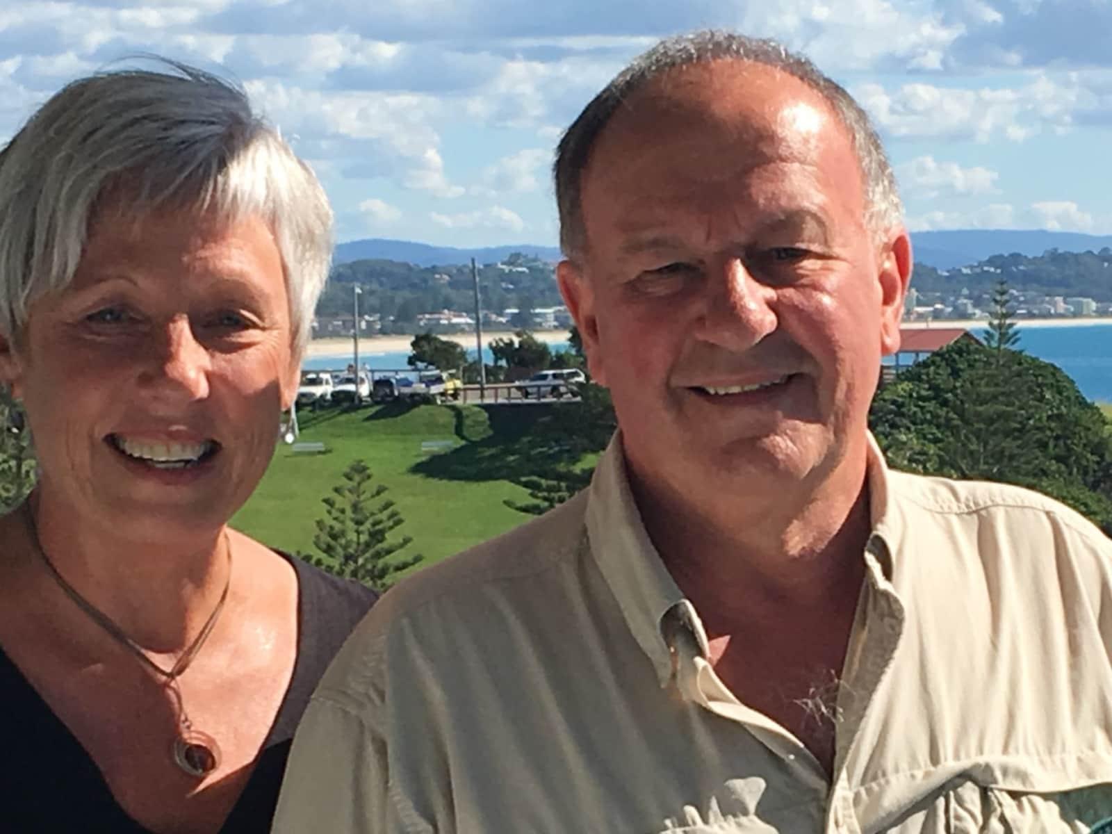 Sue & Peter from Mosgiel, New Zealand