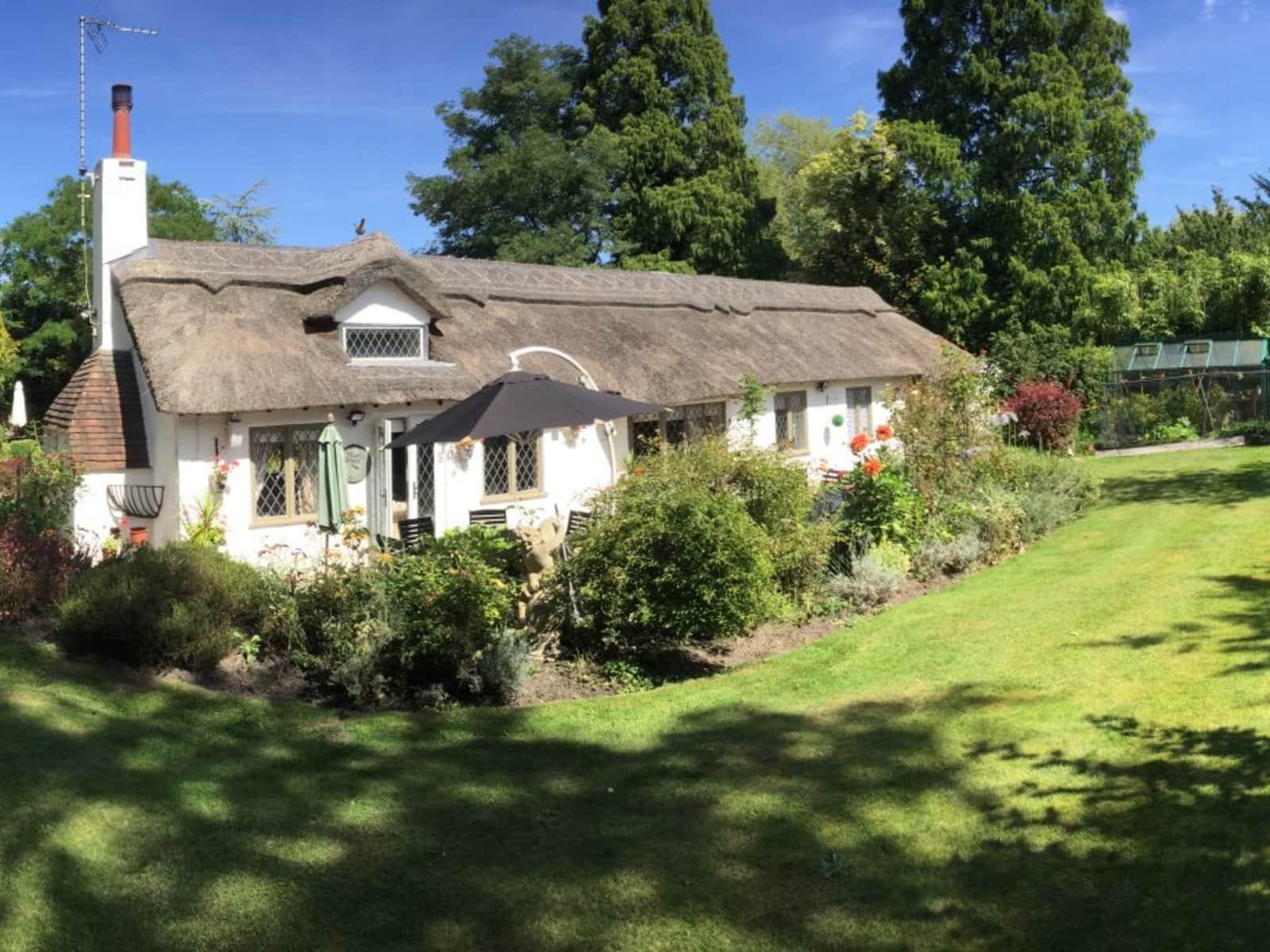 Housesitting assignment in Chobham, United Kingdom