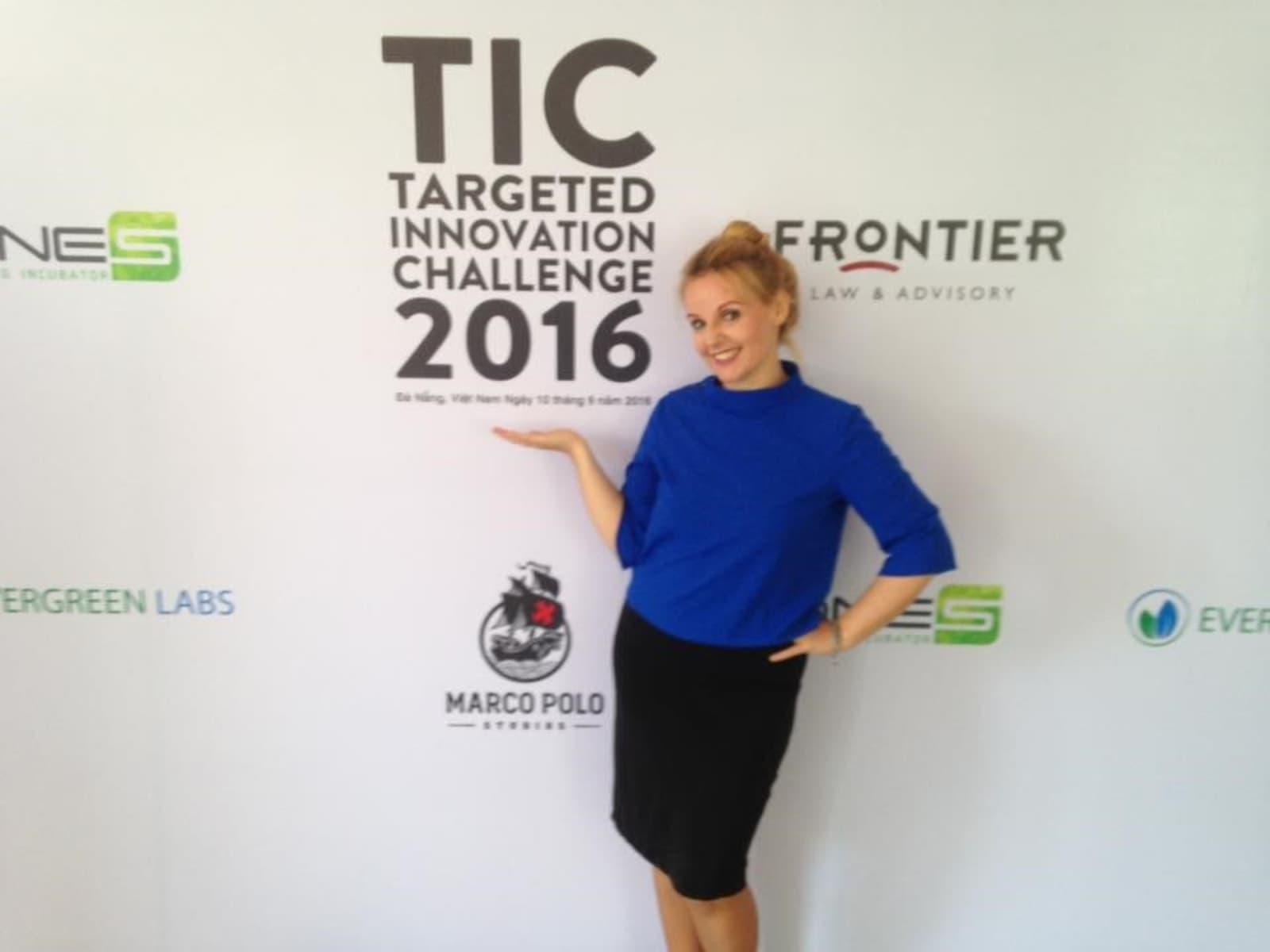 Marika from Tallinn, Estonia