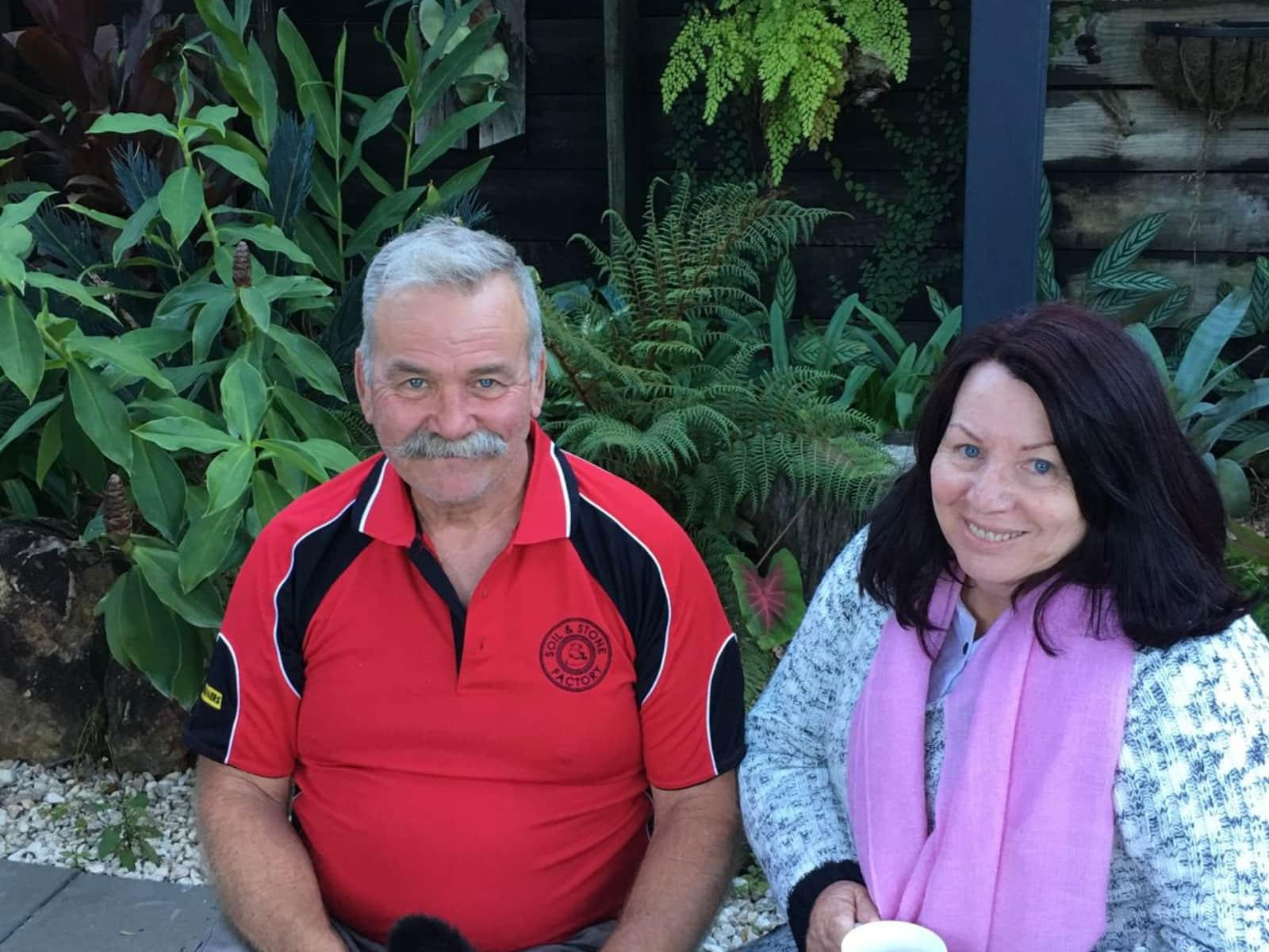 Marina & Peter from Valdora, Queensland, Australia