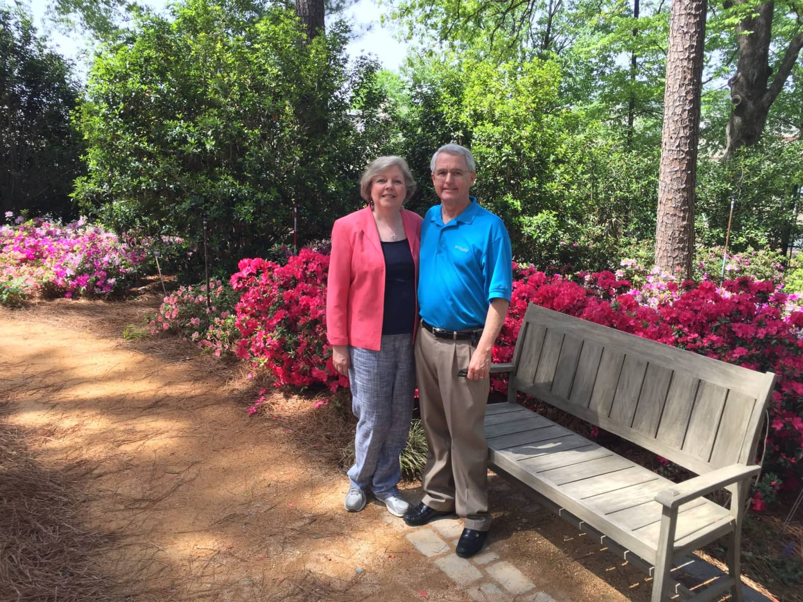 Robin & Keith from Raleigh, North Carolina, United States