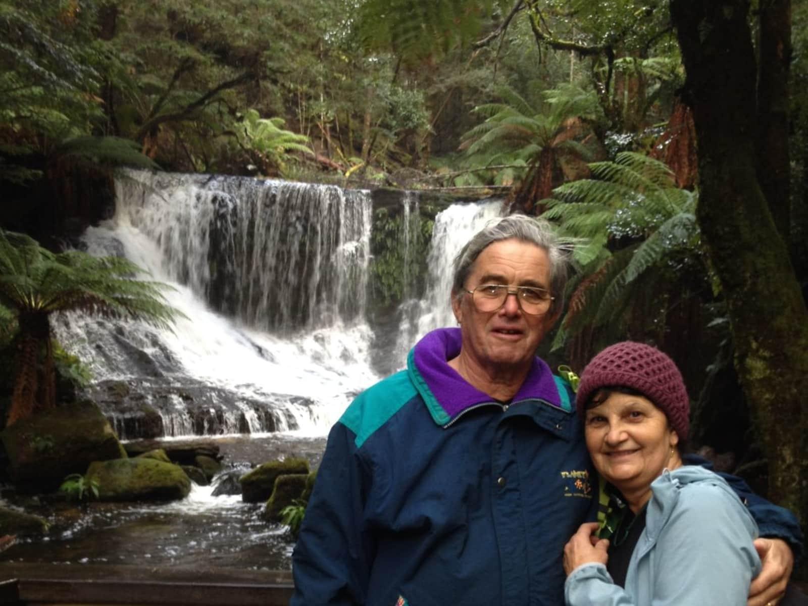 Peter & Elizabeth from Brisbane, Queensland, Australia