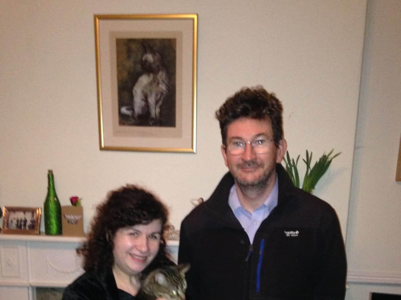 Fiona & Andrew from Lytham, United Kingdom