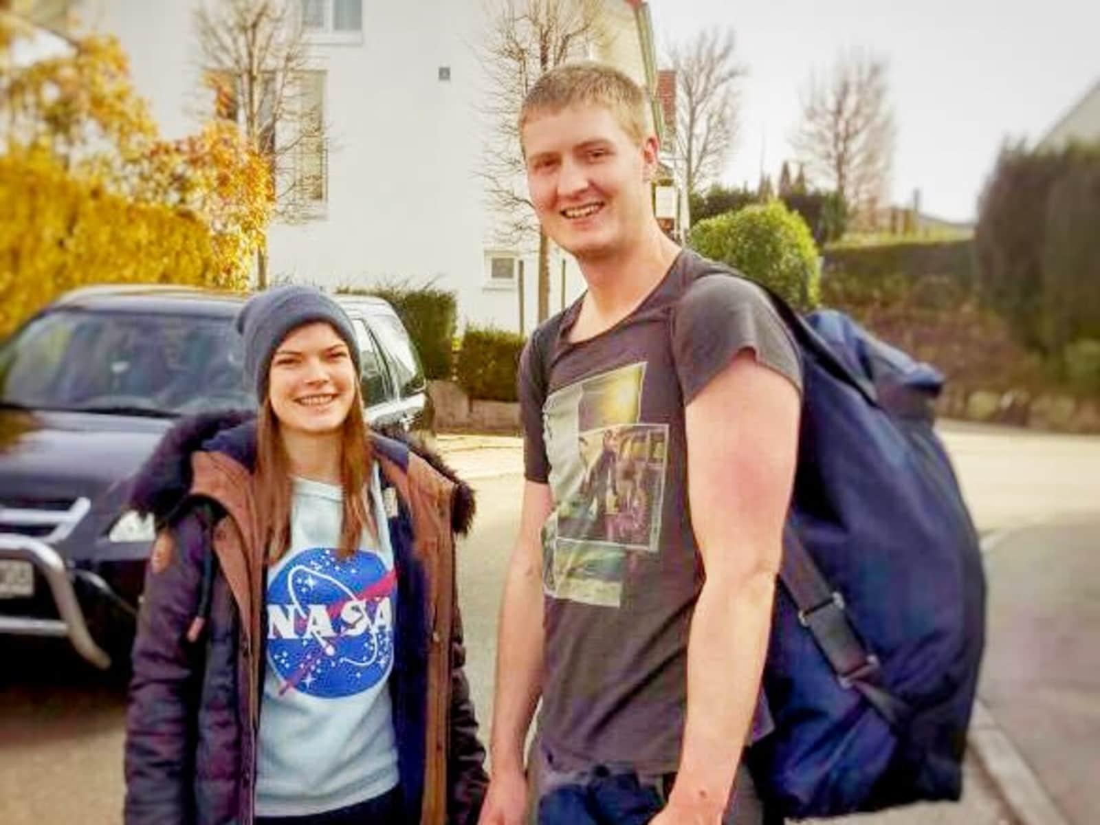 Carolin & martin & Carolin from Stuttgart, Germany