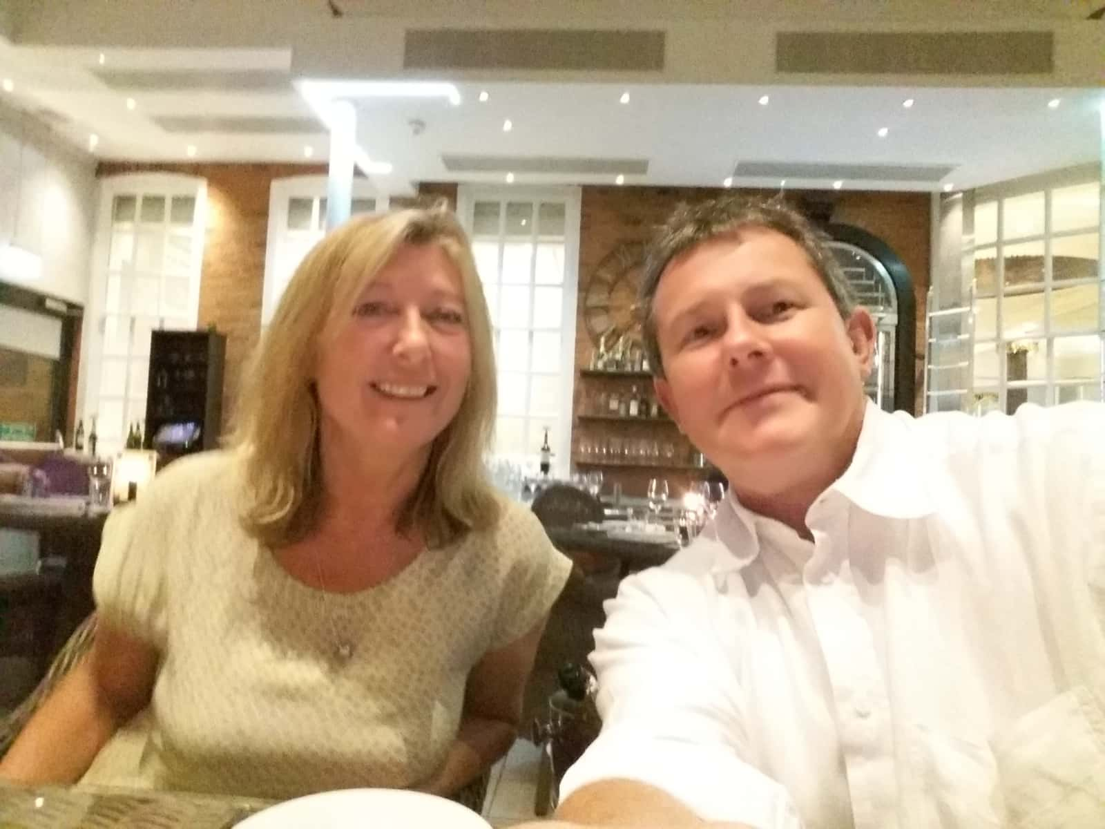 Jo & Robin from Wimbledon, United Kingdom
