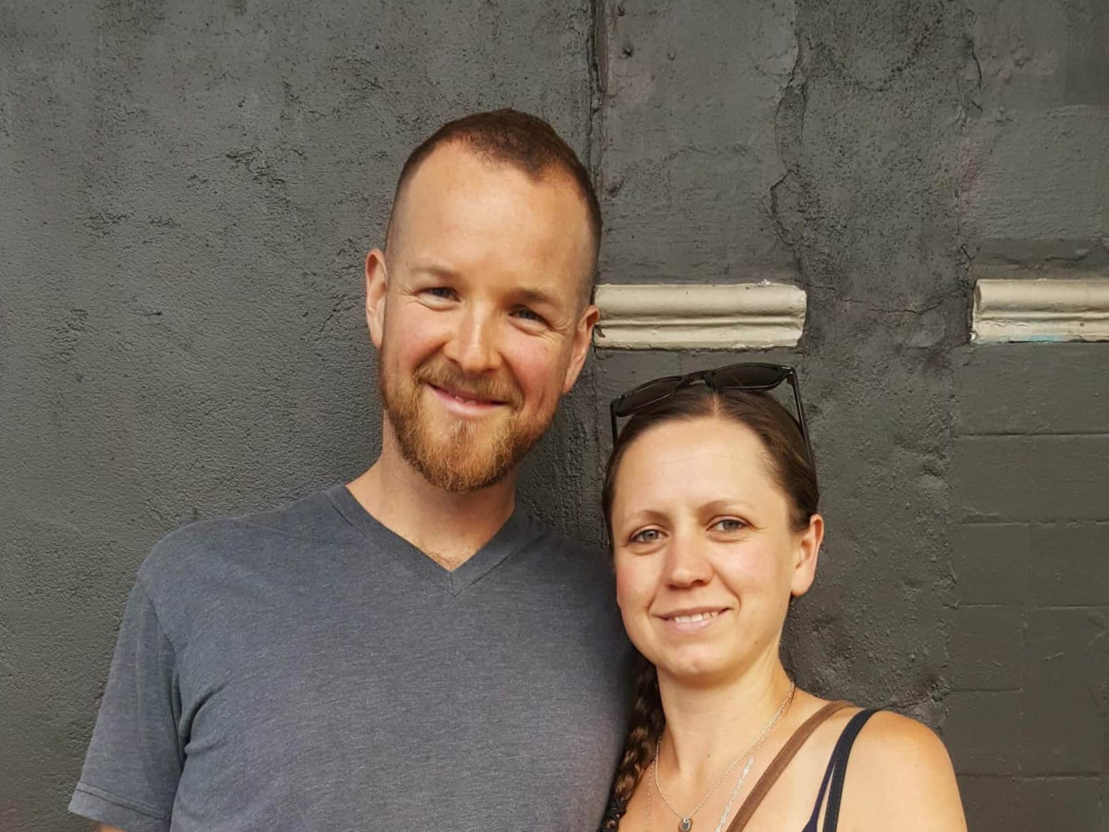 Kerry & James from Gibsons, British Columbia, Canada