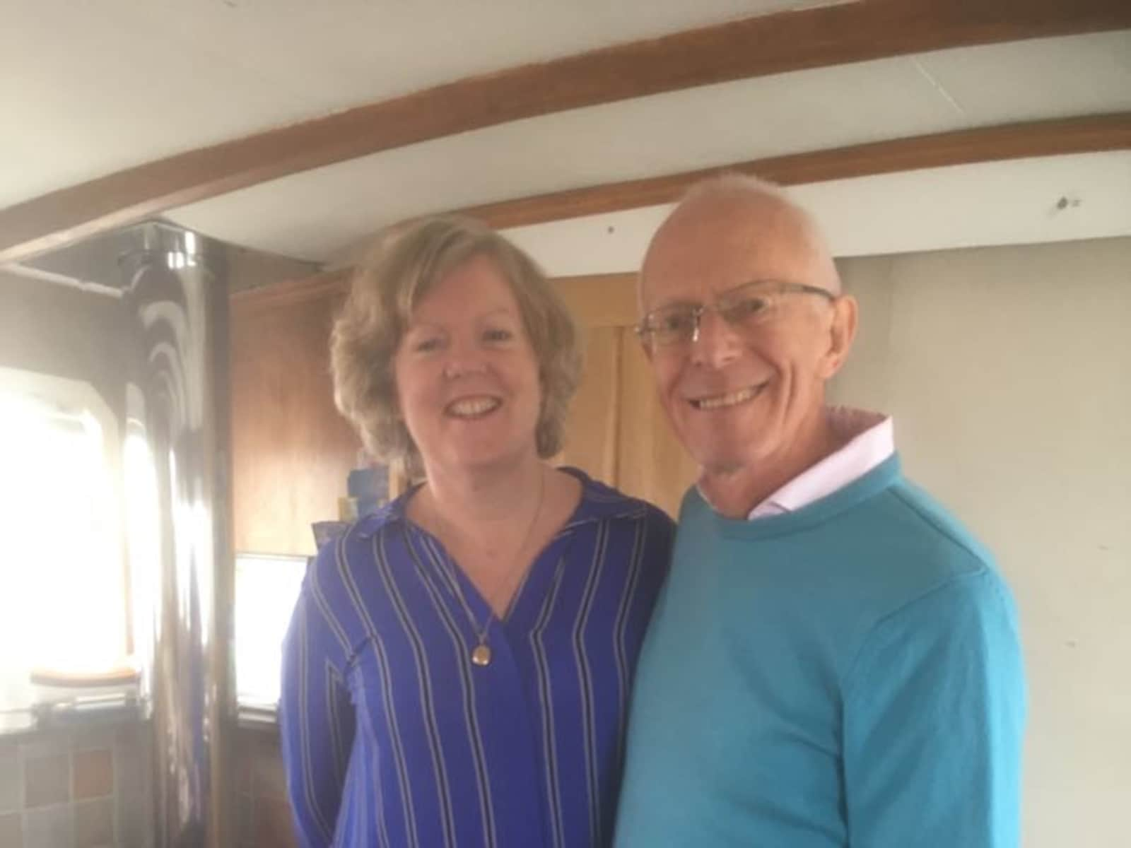 Rachel & Terry from Reading, United Kingdom