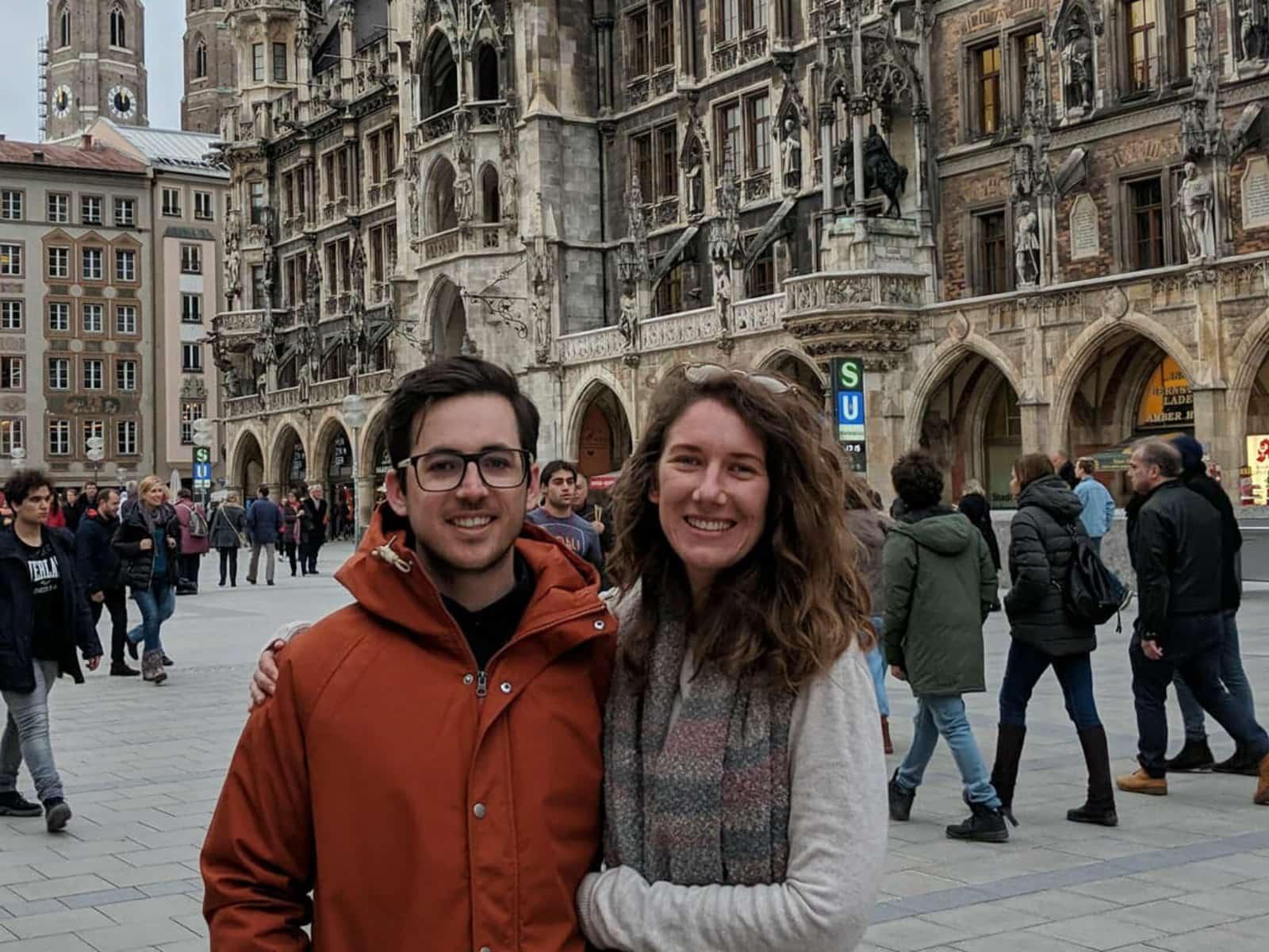 Natasha & Benjamin from Brighton, United Kingdom