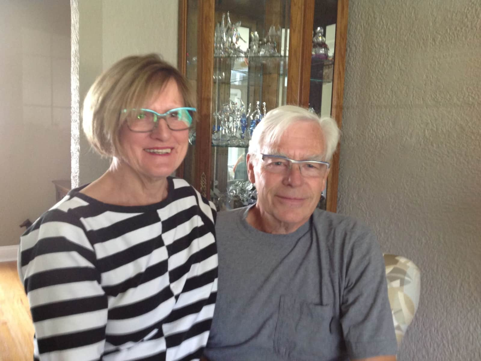 Pauline & Lorenz from Winnipeg, Manitoba, Canada