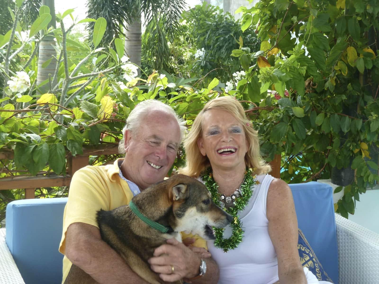Fay and ian & Ian from Byron Bay, New South Wales, Australia