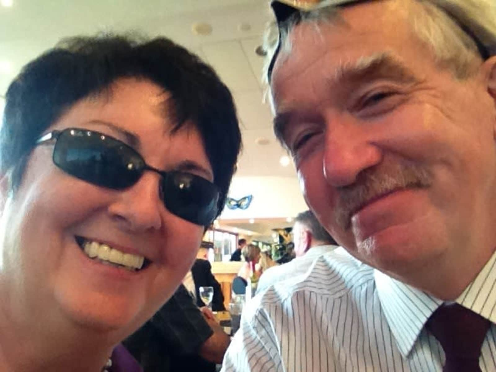 Lorraine & Andrew from Newcastle, New South Wales, Australia