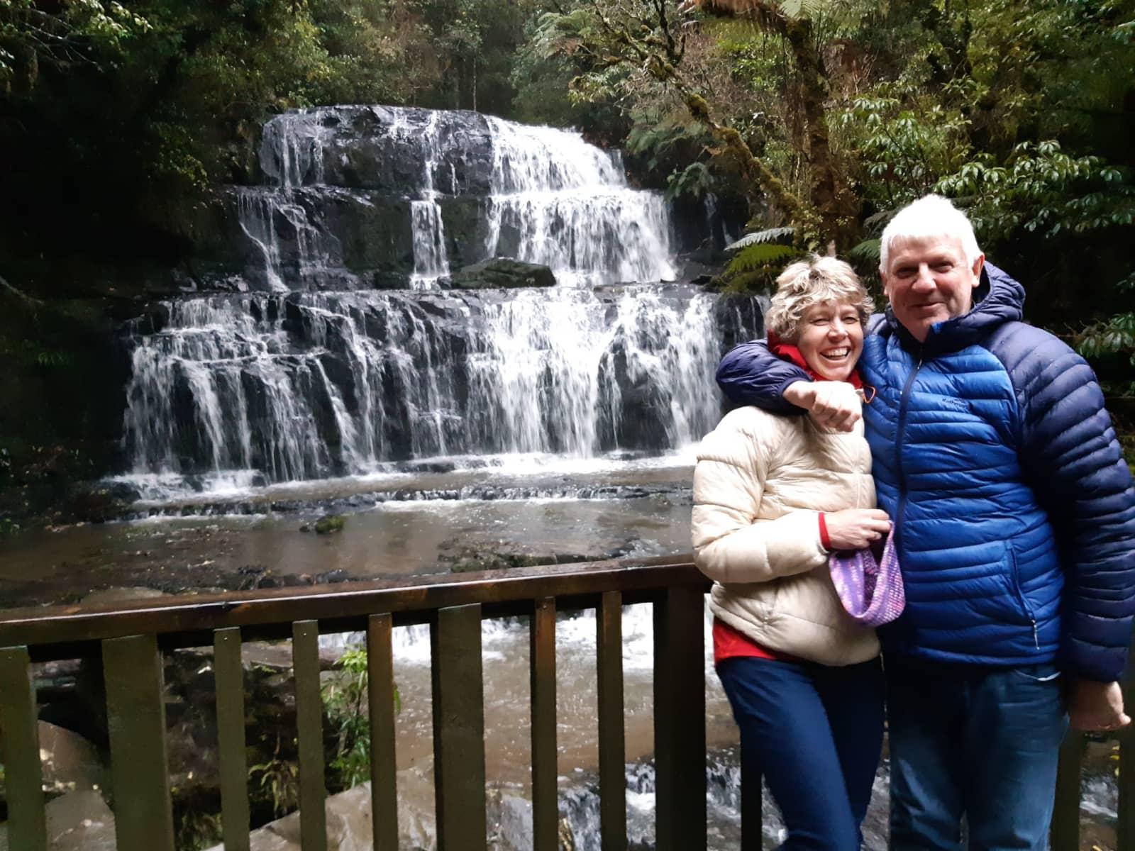 Jean & Warwick from Wanganui, New Zealand