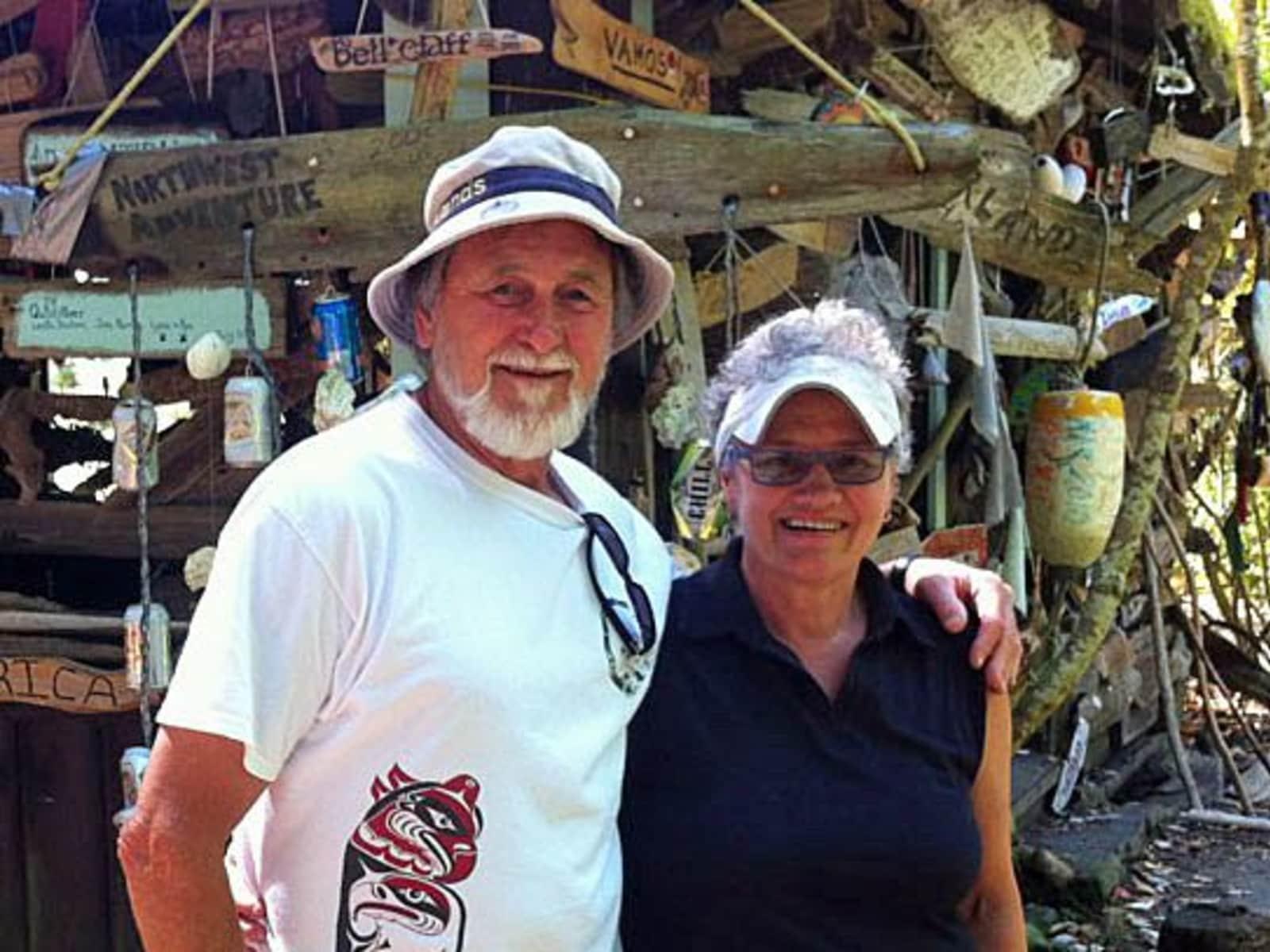 Genevieve & Ken from Thetis Island, British Columbia, Canada