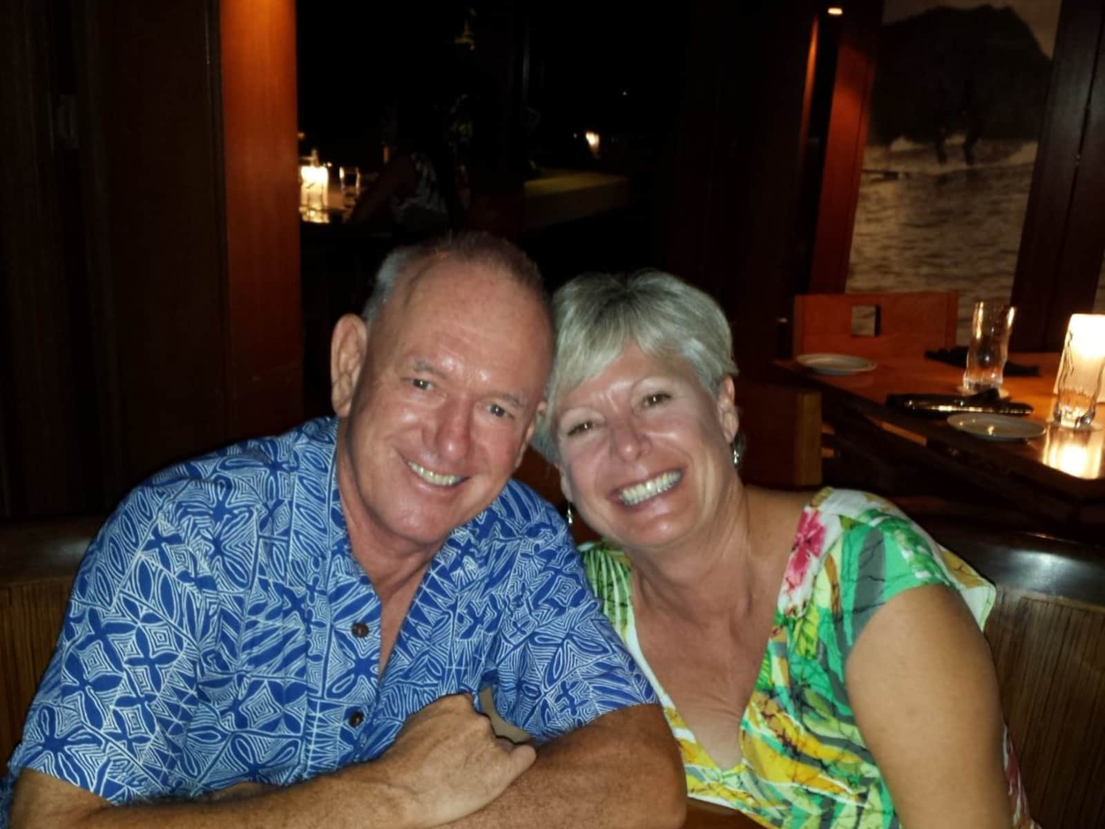 Kym & Paul from Kailua-Kona, Hawaii, United States