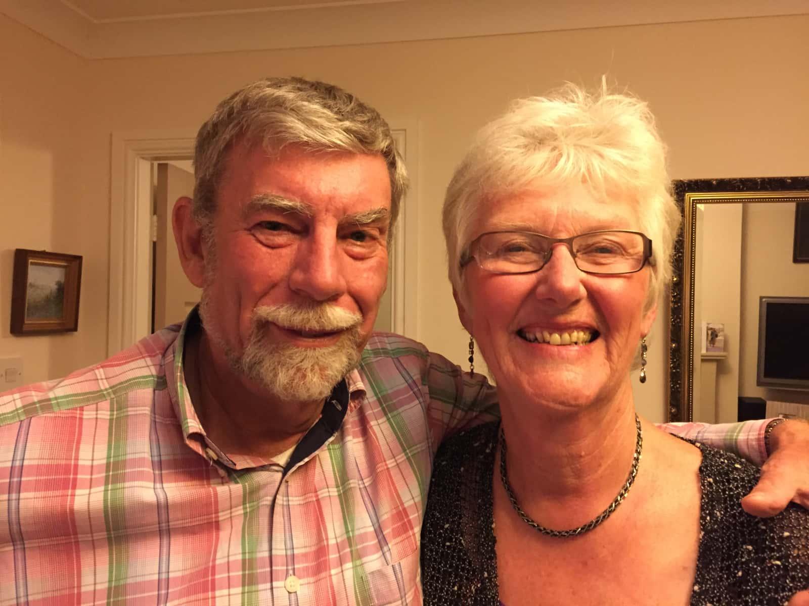 Trish & Peter from Bollington, United Kingdom