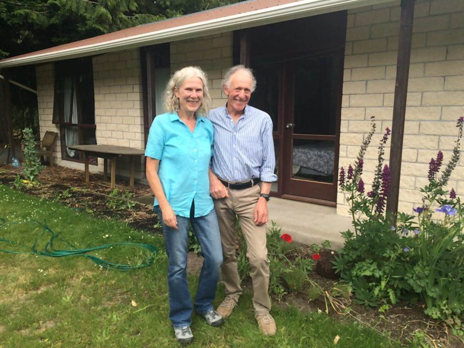 Deborah & Peter  from Christchurch, New Zealand