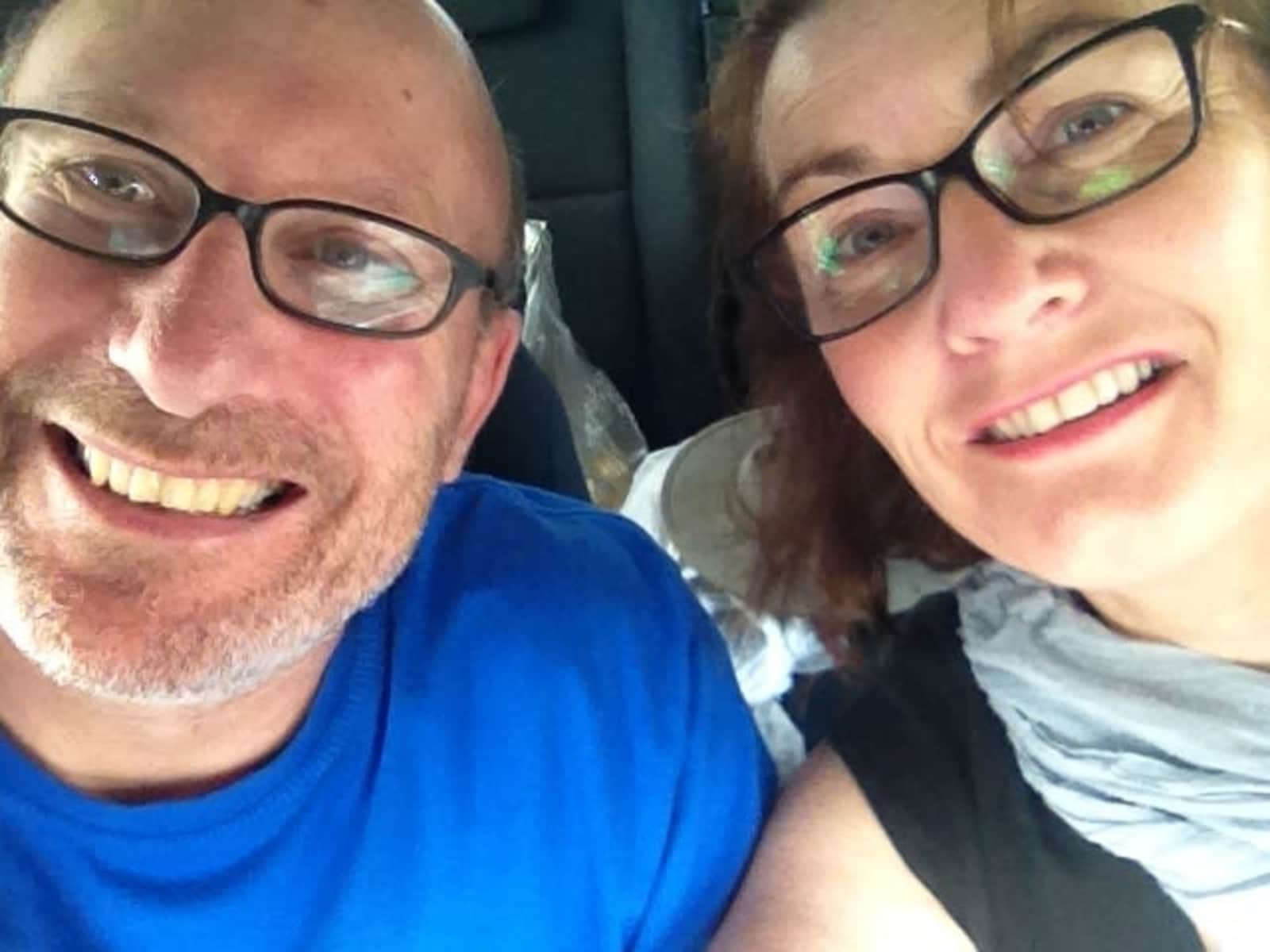 Heather & Bas from Invermay, Victoria, Australia