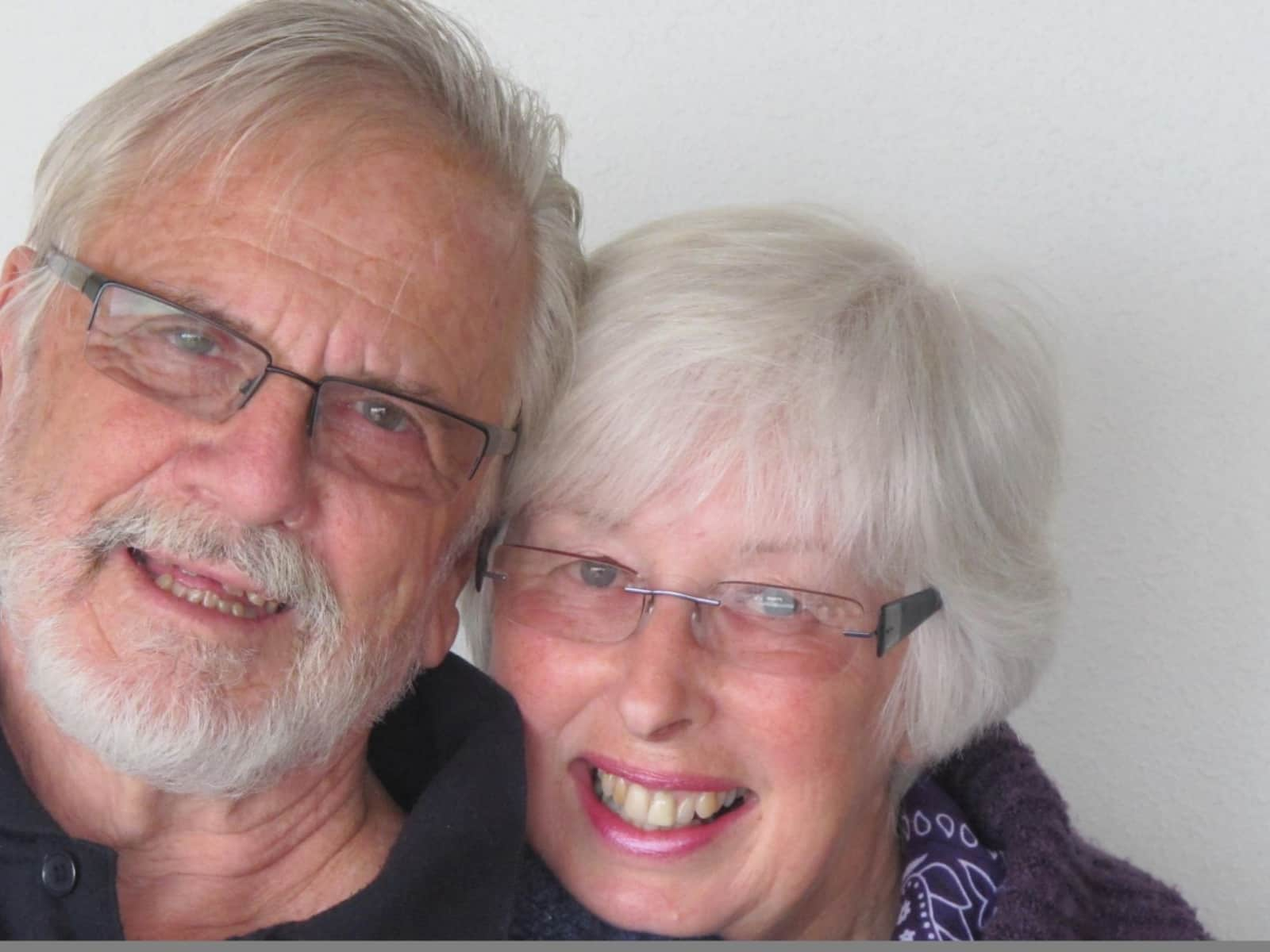 Liz & Maurie from Dunedin, New Zealand