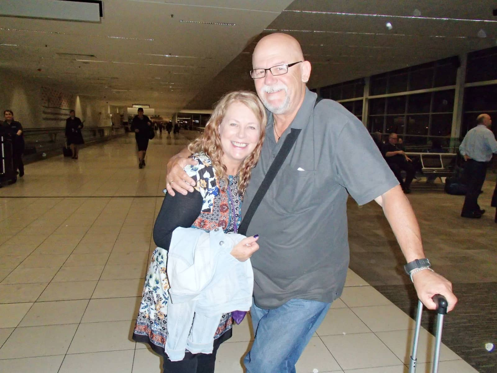 Pamela & Edgell from Adelaide, South Australia, Australia