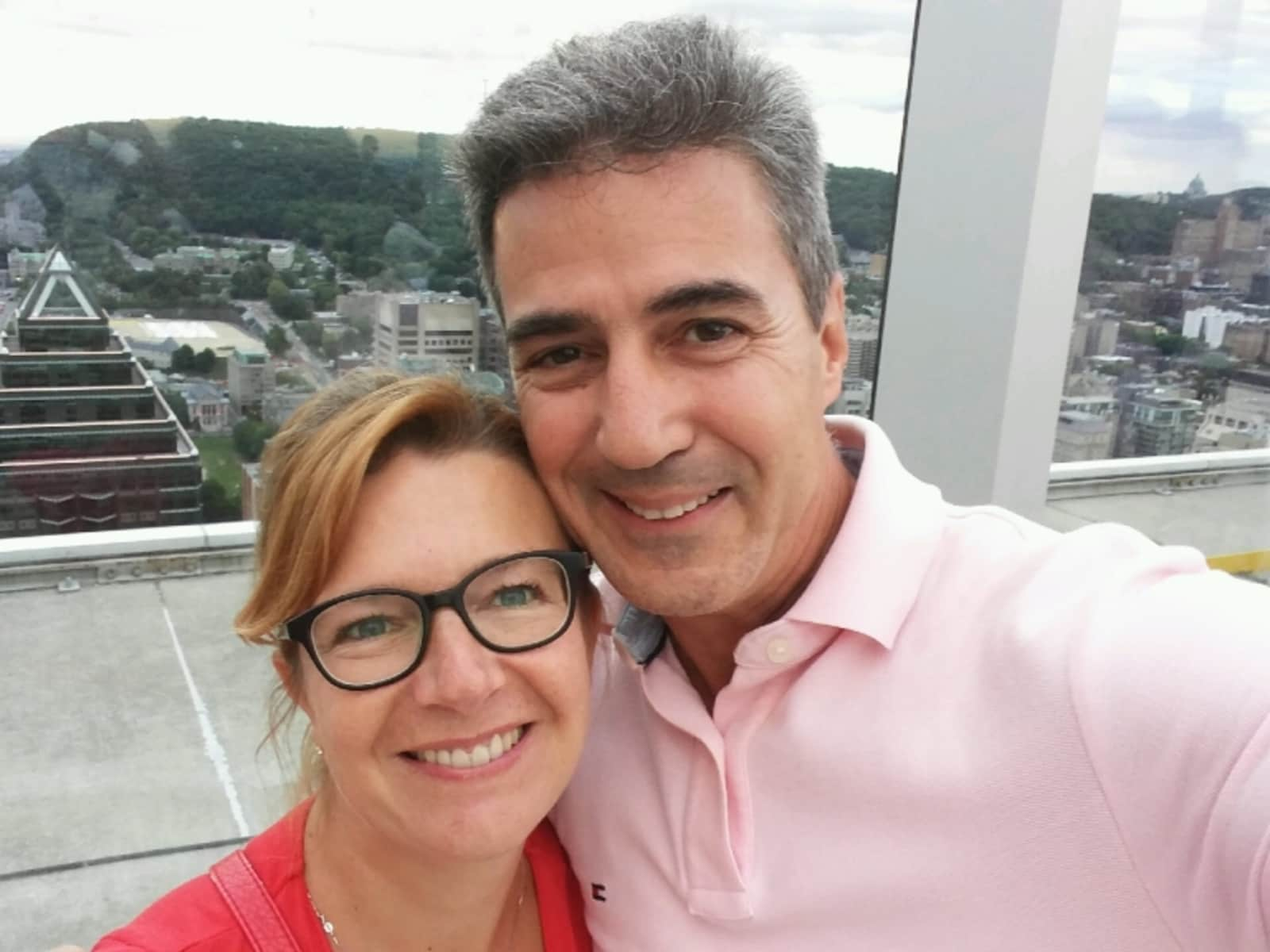 René & Sabine from Montréal, Quebec, Canada
