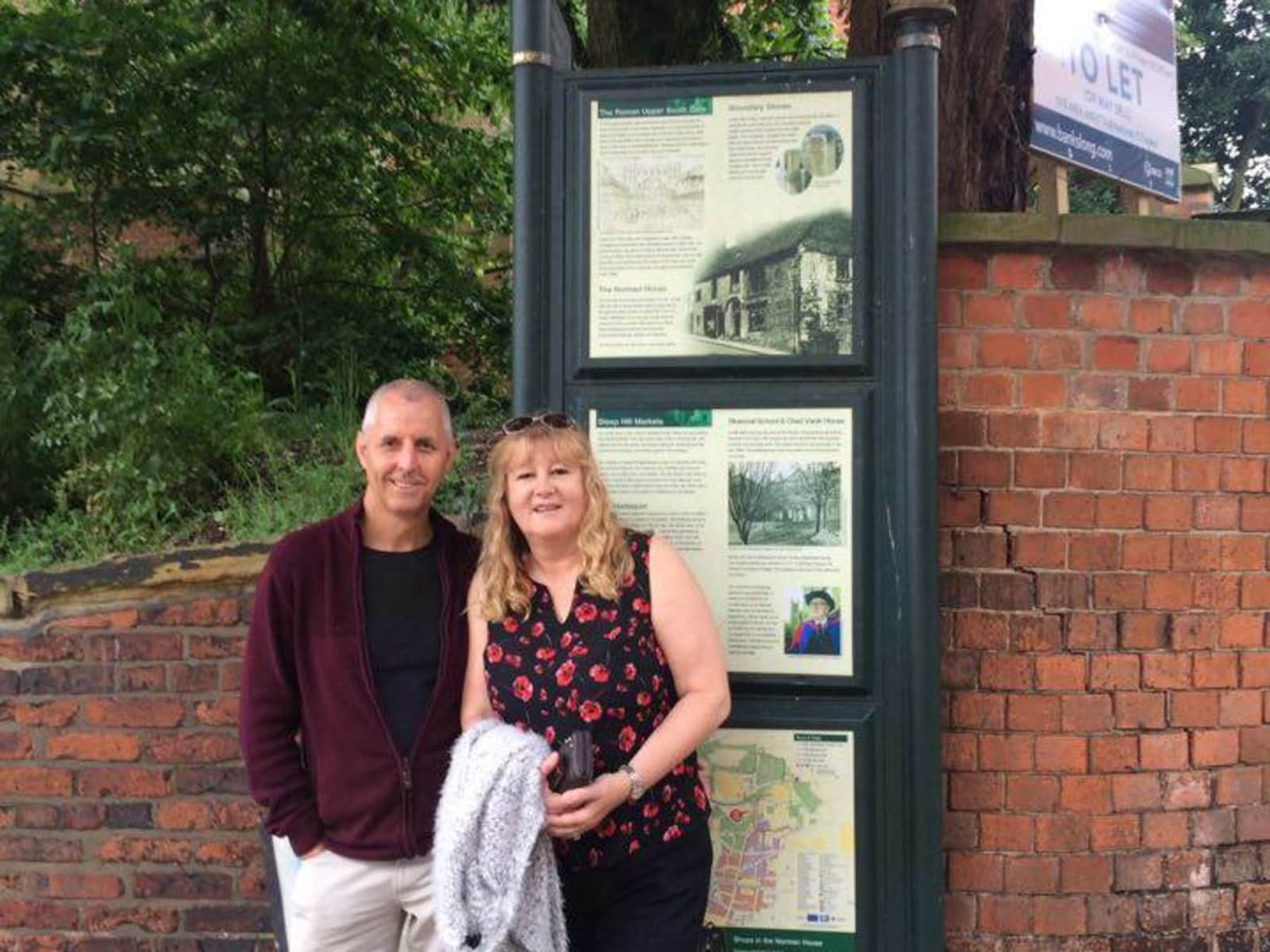 Lynn & Paul from Peterborough, United Kingdom