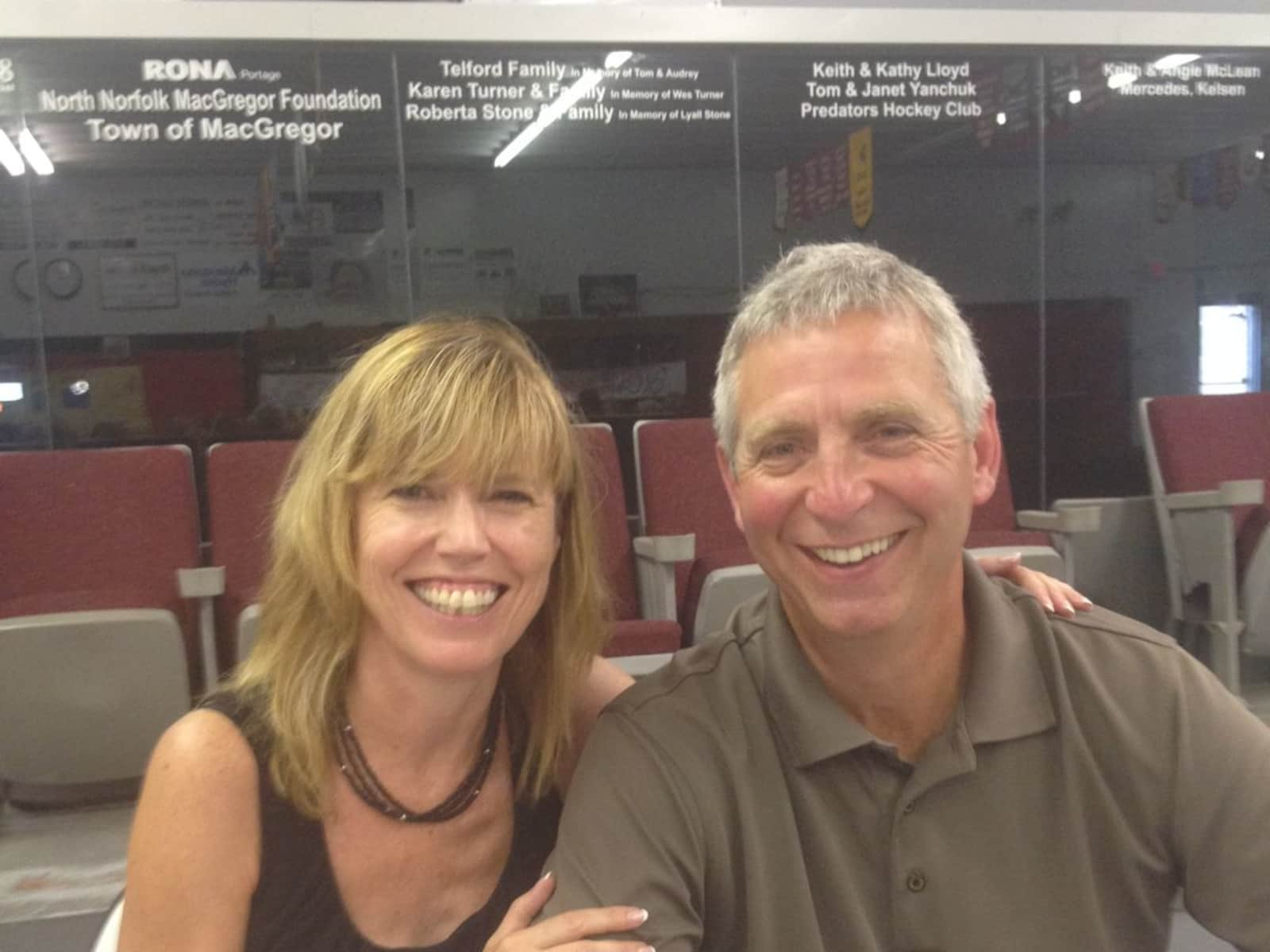 Pam & Brent from Portage la Prairie, Manitoba, Canada