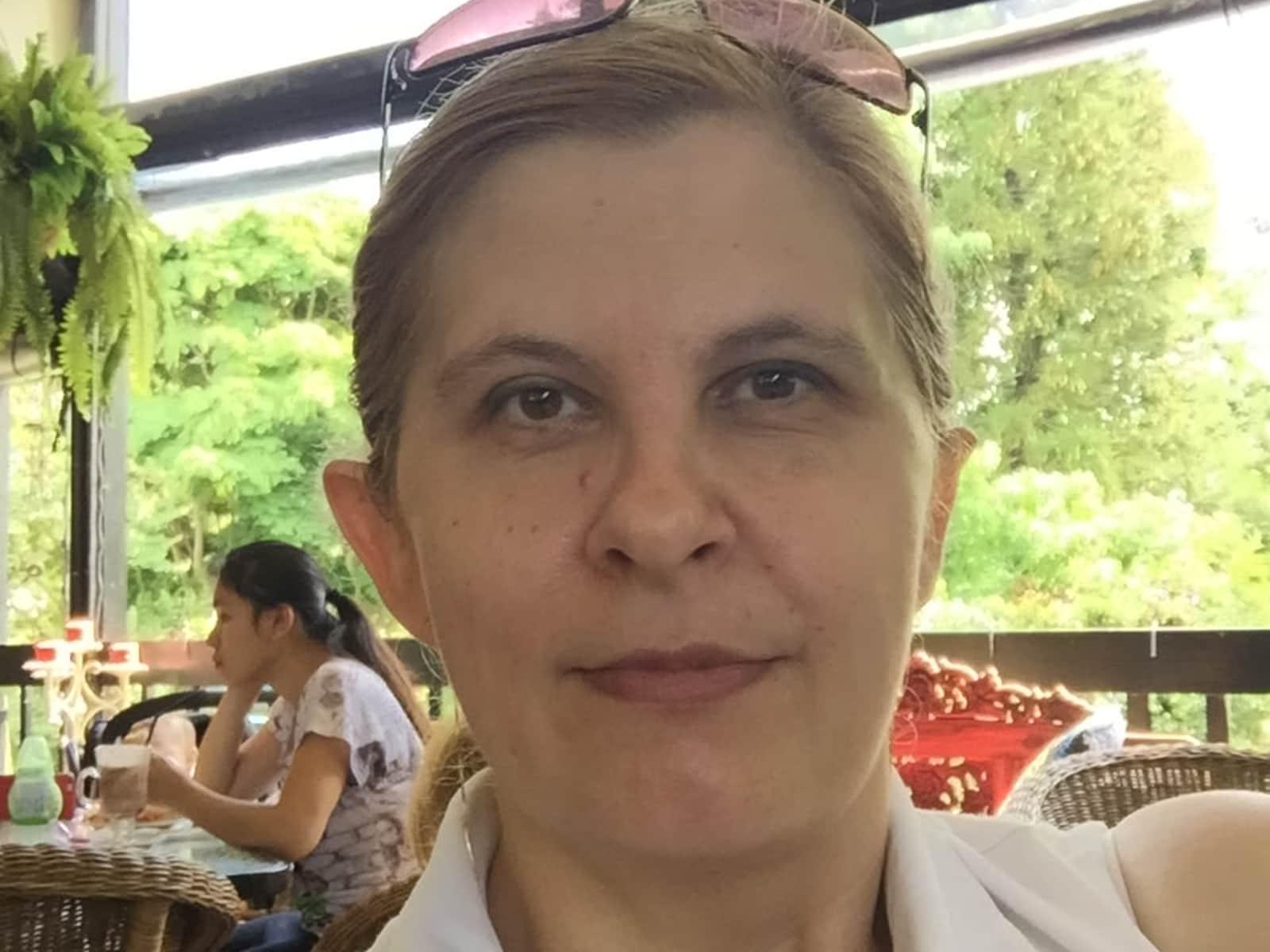 Judit from Budapest, Hungary