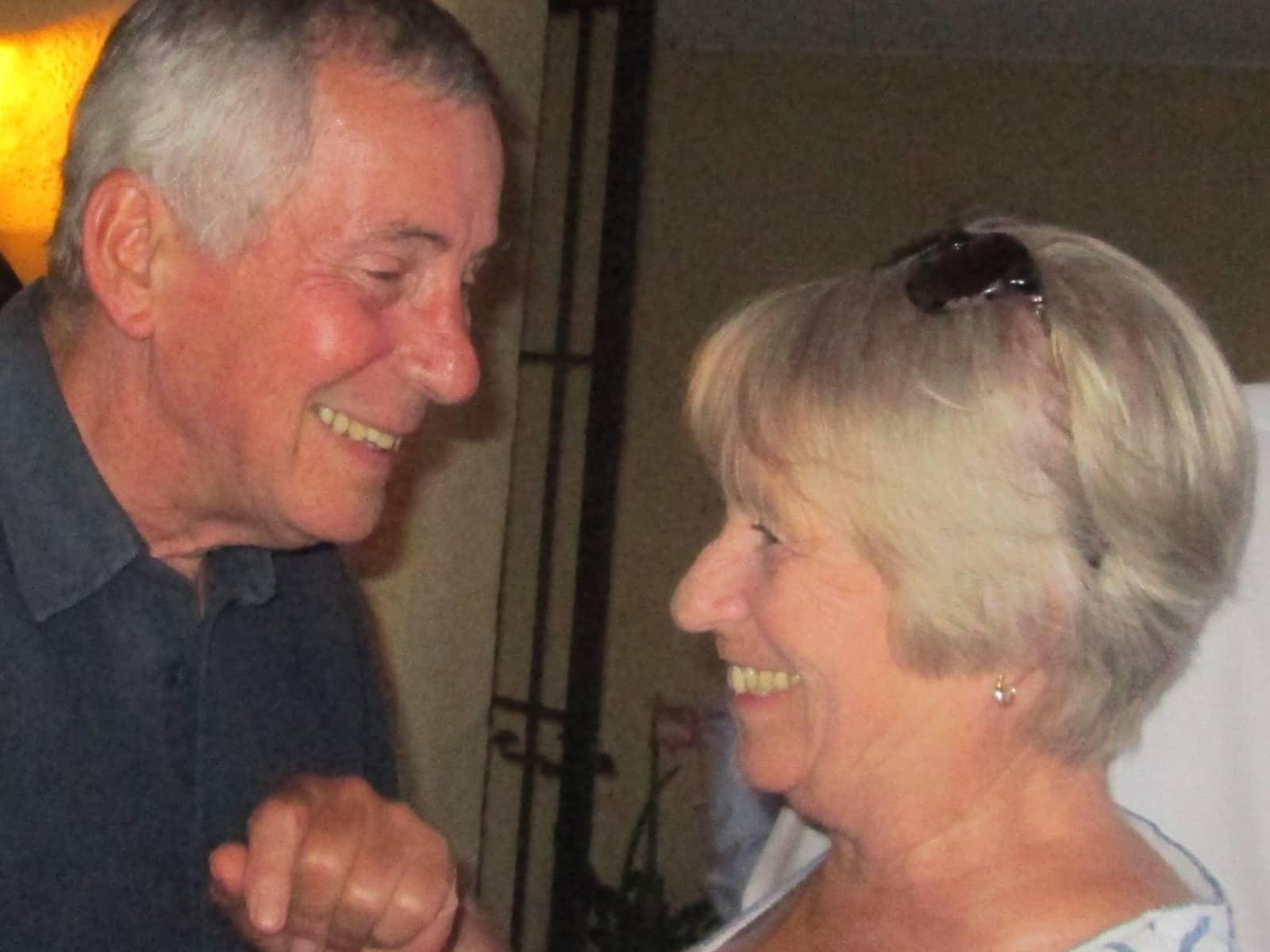 Sue & Greg from Sant Feliu de Guíxols, Spain