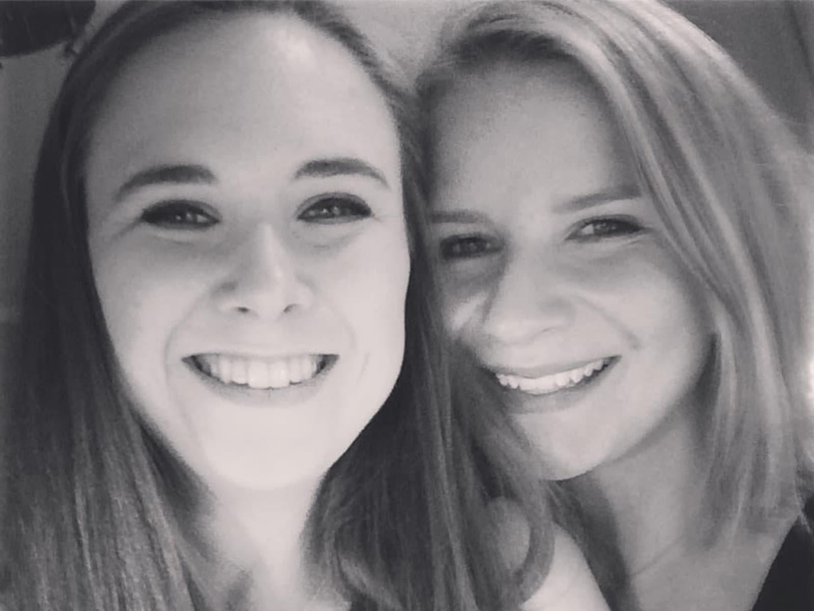 Juliane & Jennifer from Bielefeld, Germany
