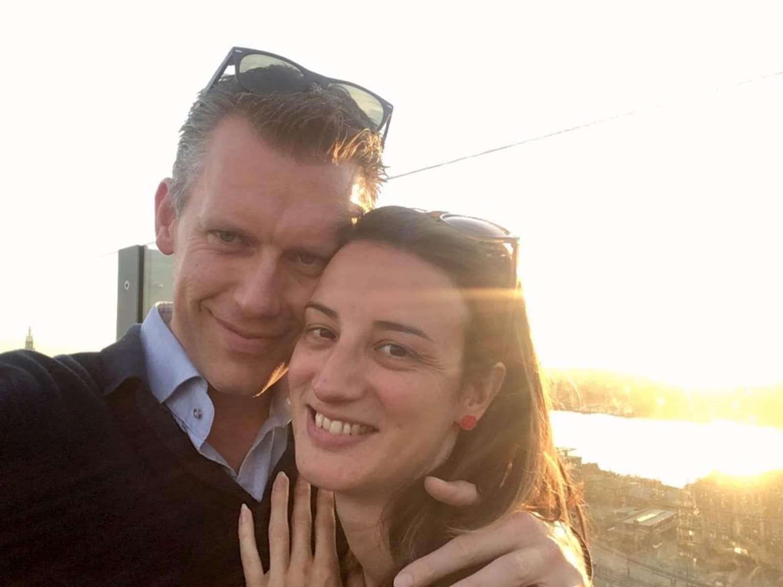 Hanne & Christophe from Kapellen, Belgium