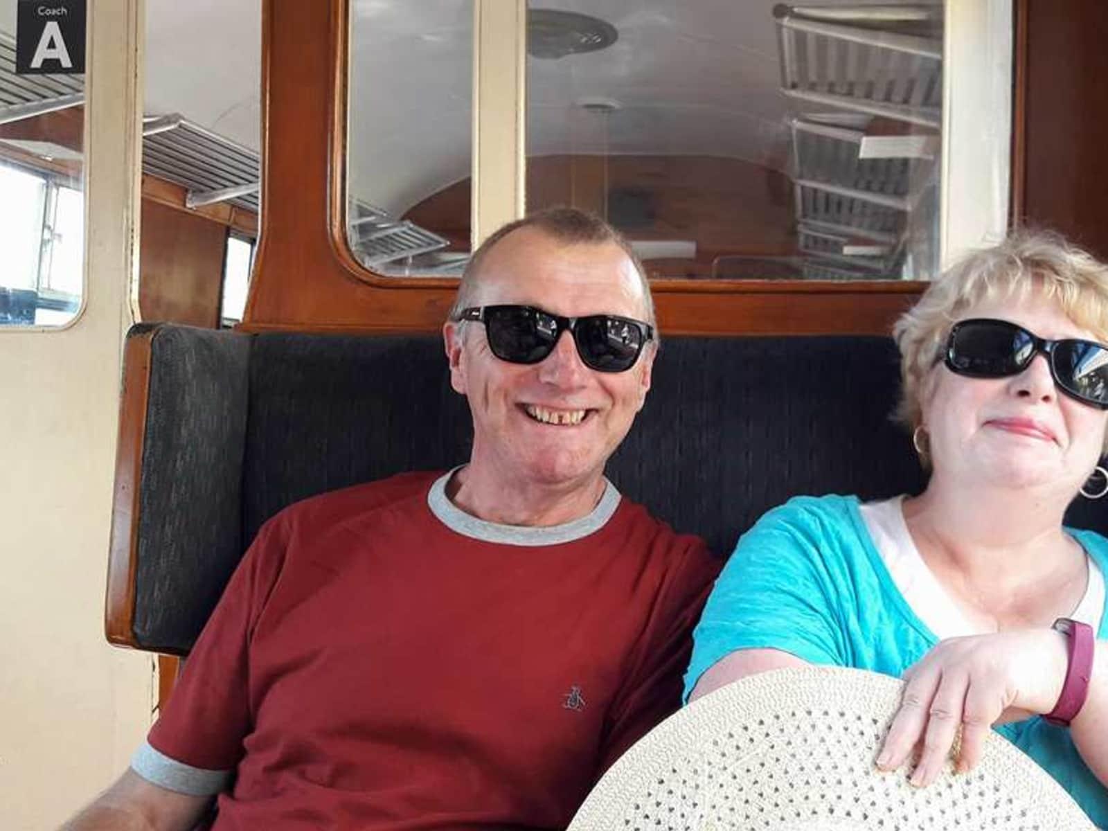 Ian & Heather from Paignton, United Kingdom