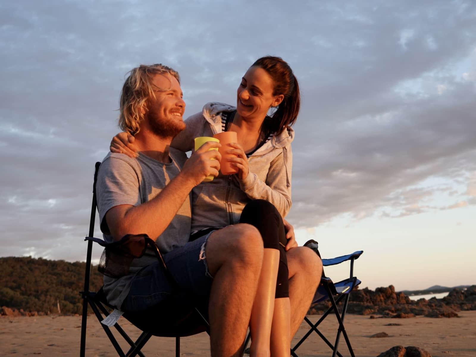 Adam & Lisa from Sydney, New South Wales, Australia
