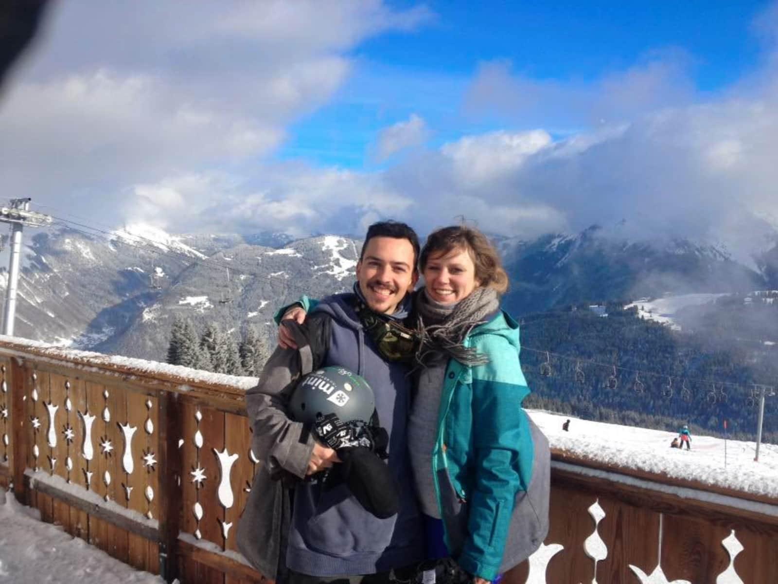 Lian & Leandro from Morzine, France
