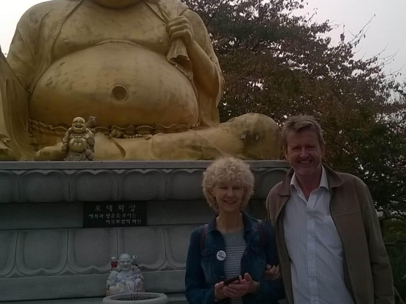 Barbara & David from London, United Kingdom