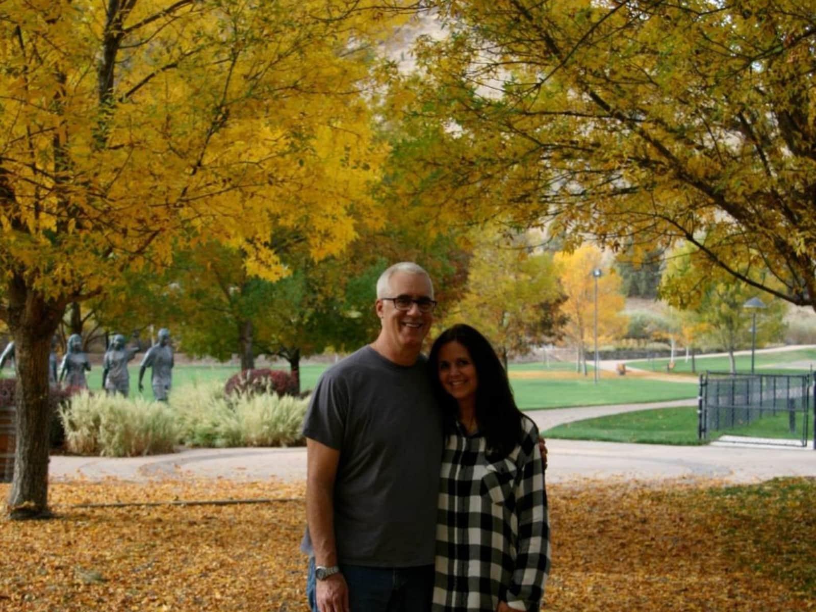 Karen & Andrew from Edmonds, Washington, United States