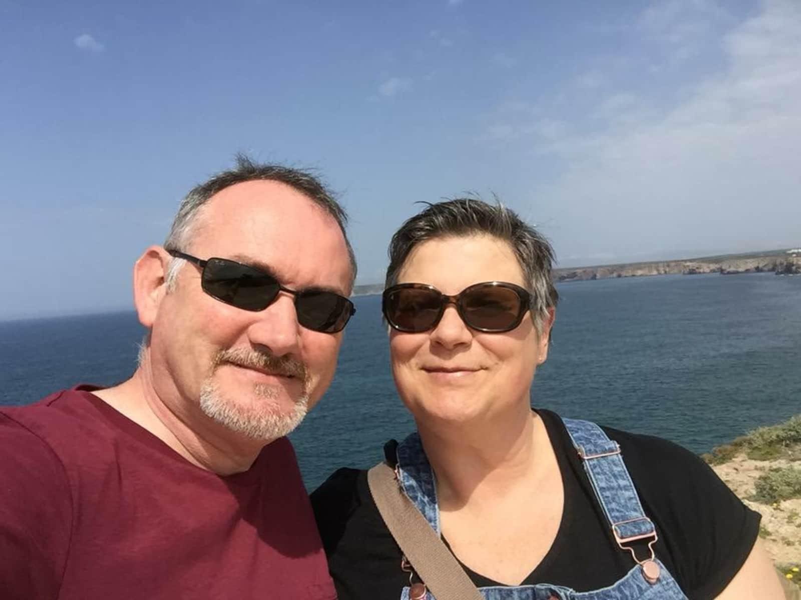 Michèle & Mark from La Praz, Switzerland