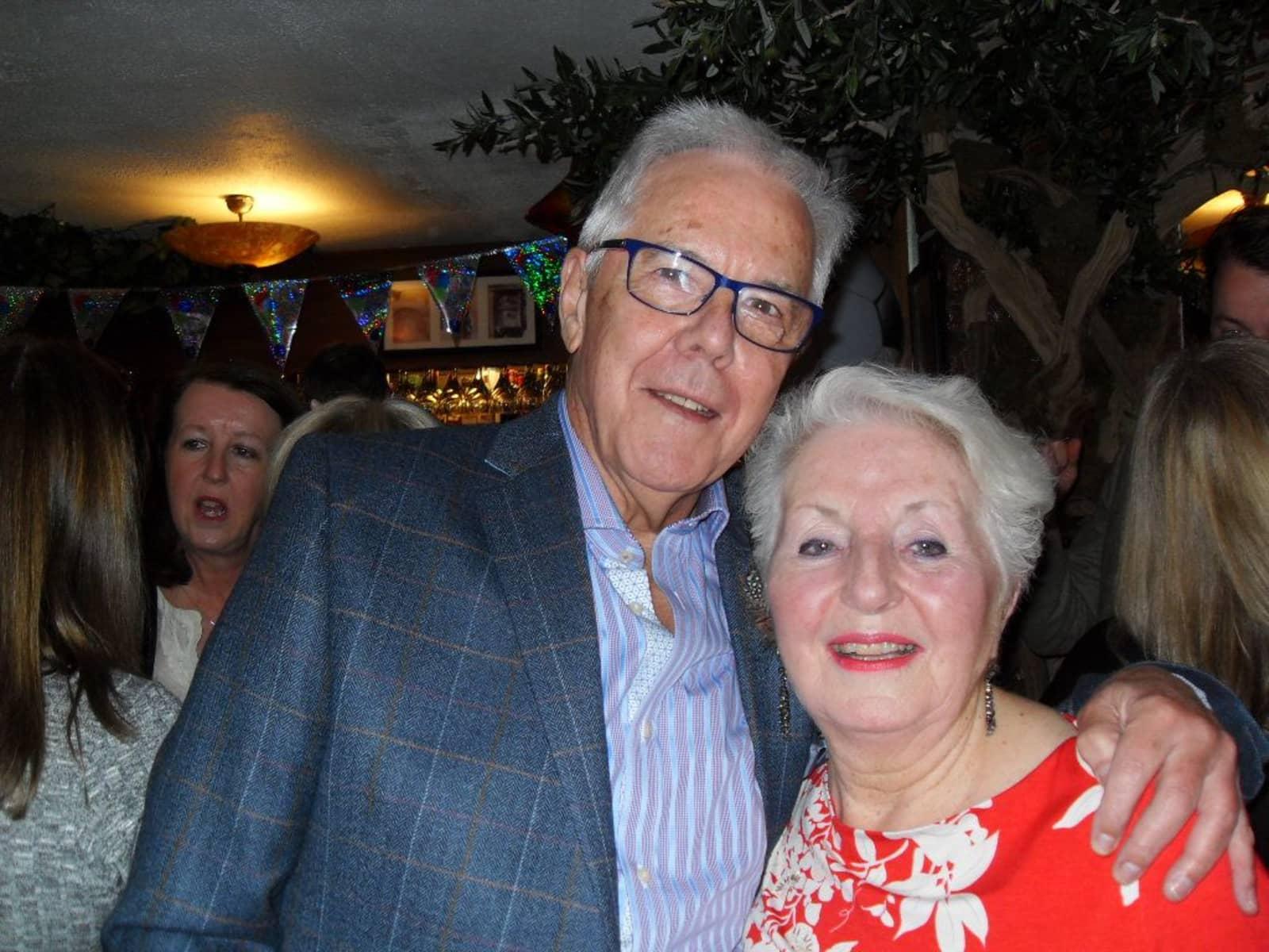 Maureen & Graham from Manchester, United Kingdom