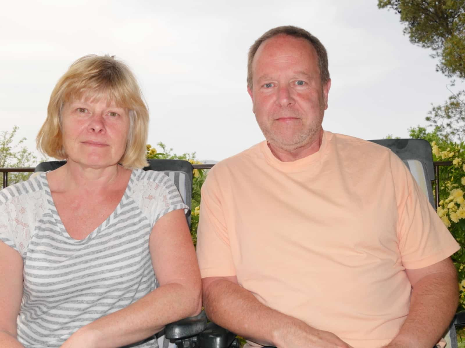 Kathy & Mike from Wallasey, United Kingdom