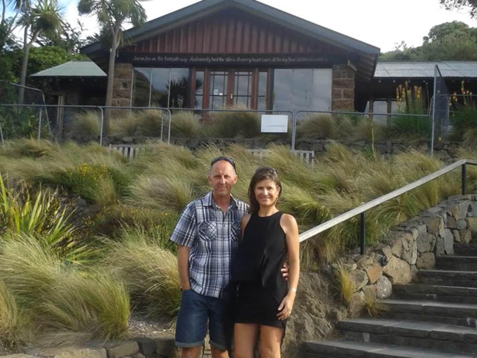 Carla & Grady from Nelson, New Zealand